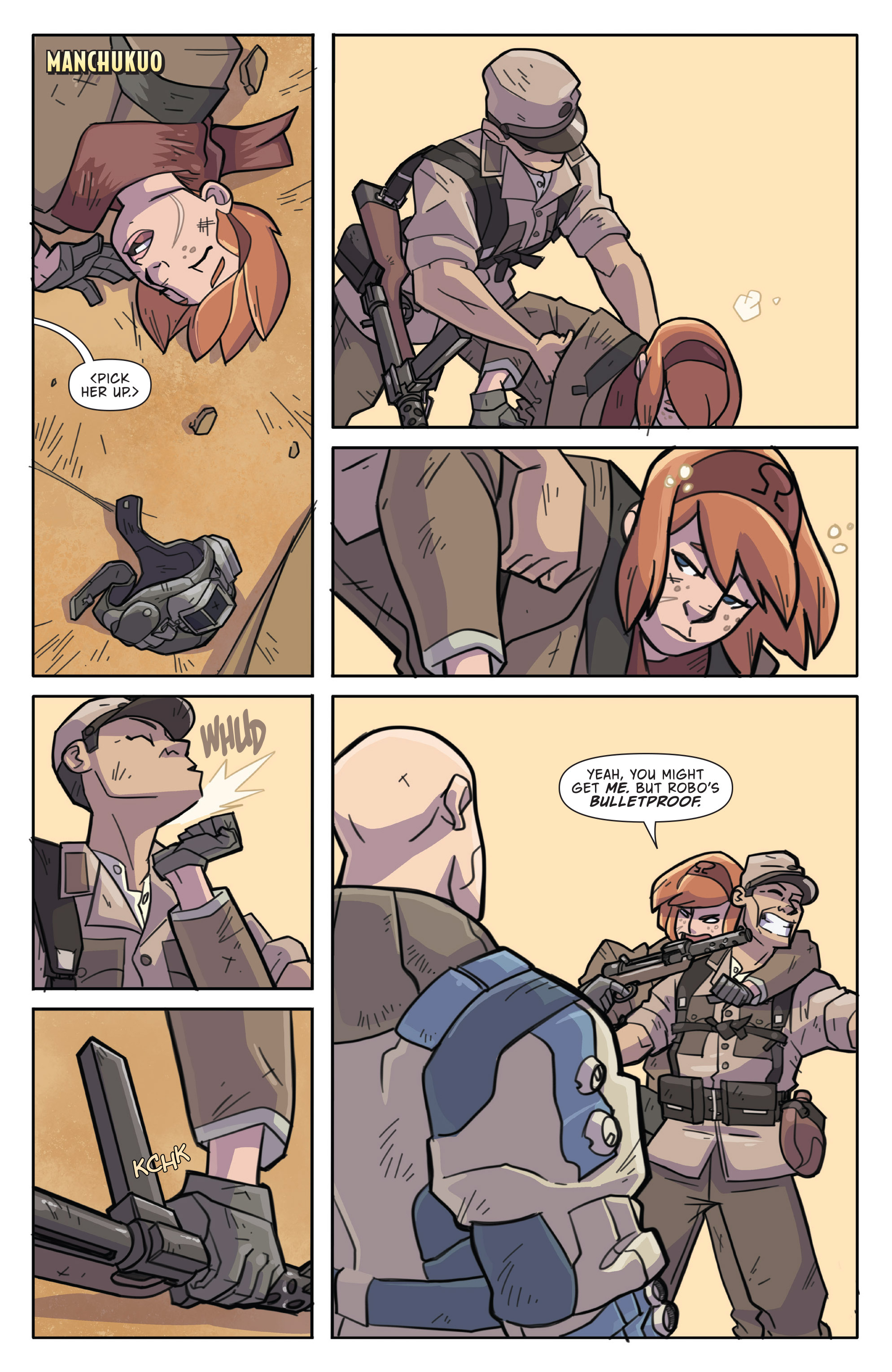 Read online Atomic Robo and the Temple of Od comic -  Issue #1 - 21