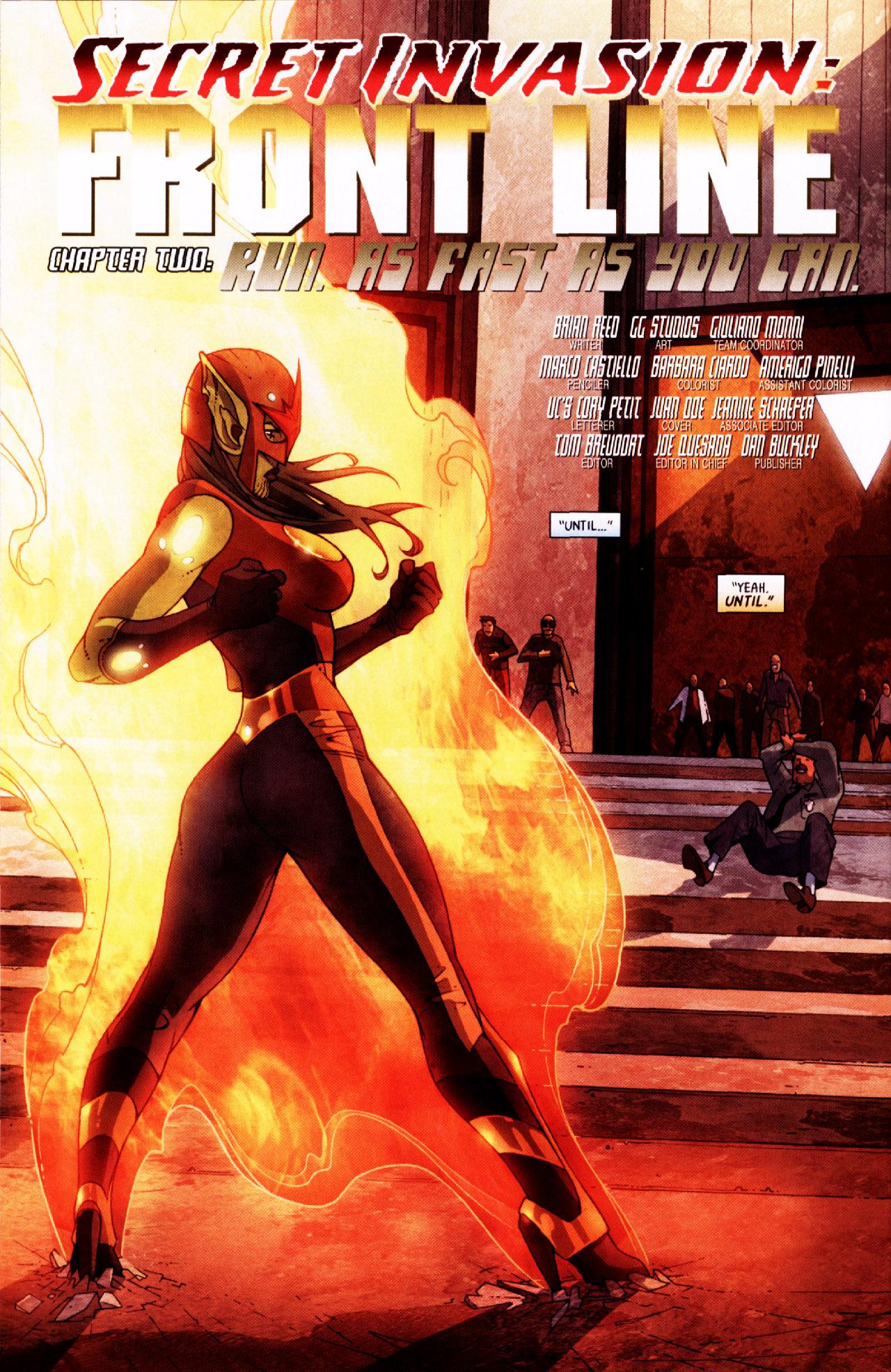 Read online Secret Invasion: Front Line comic -  Issue #2 - 9