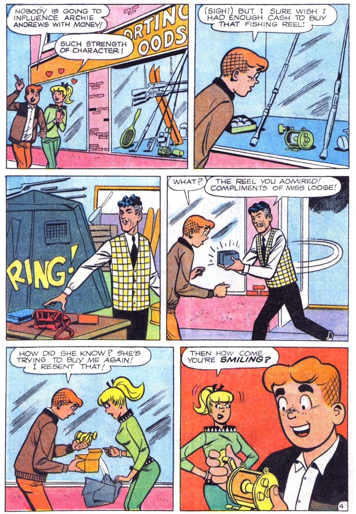 Read online Archie (1960) comic -  Issue #164 - 16