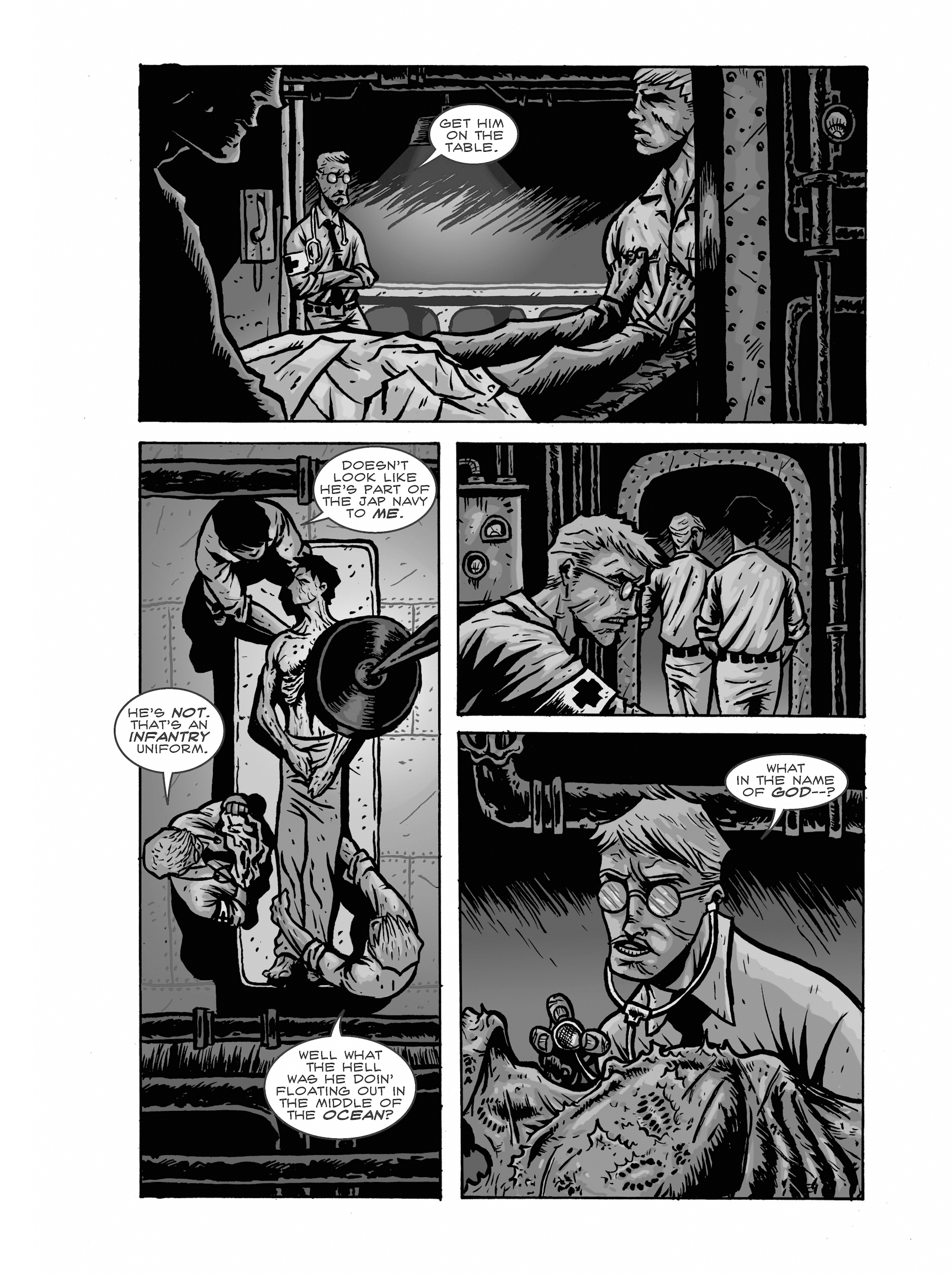 Read online FUBAR comic -  Issue #2 - 70