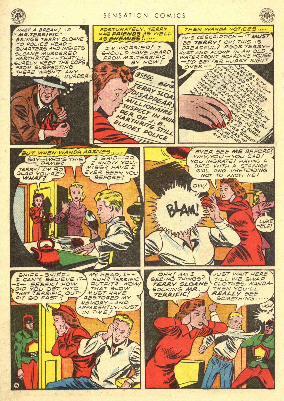 Read online Sensation (Mystery) Comics comic -  Issue #39 - 34