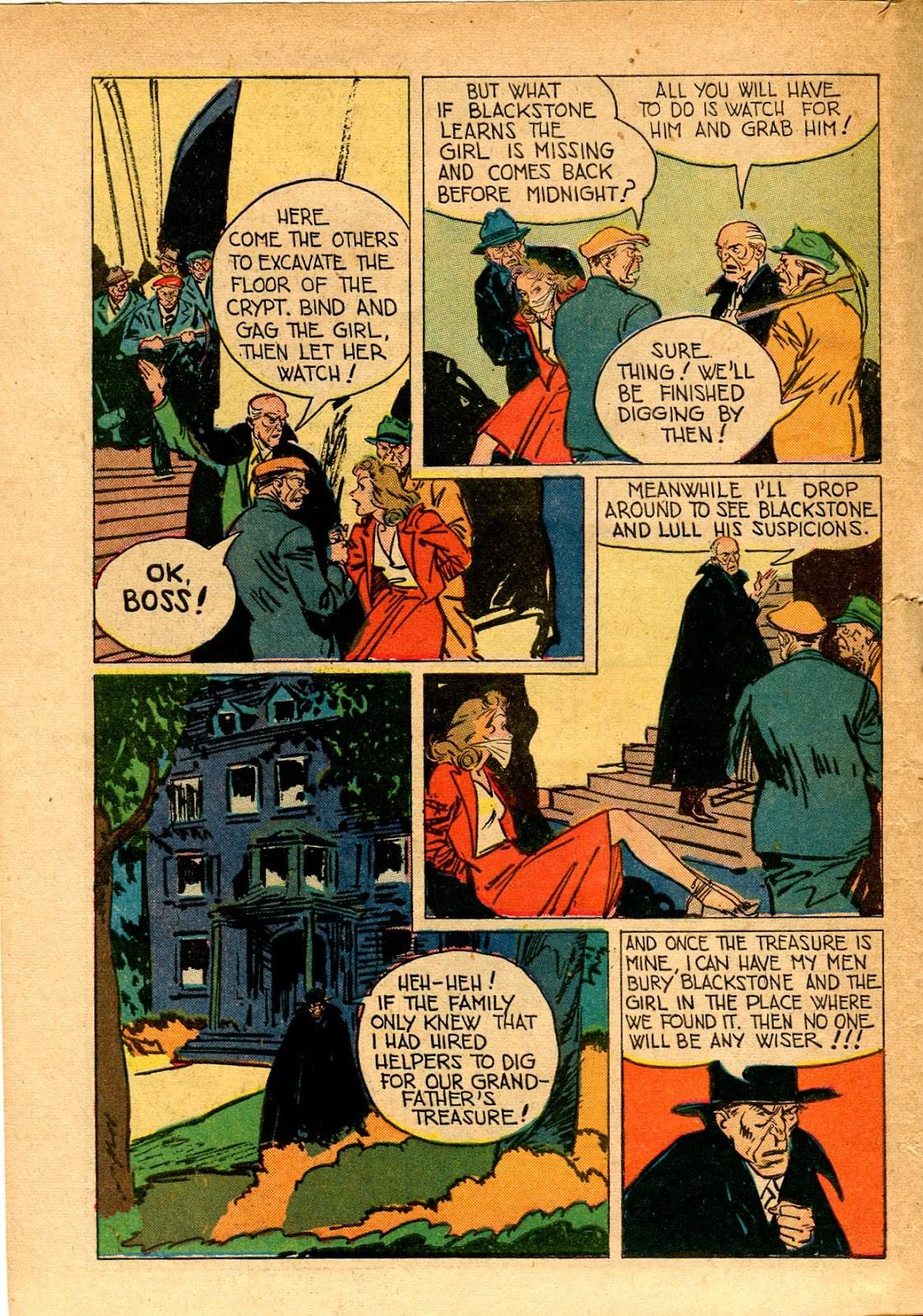 Read online Super-Magician Comics comic -  Issue #33 - 42