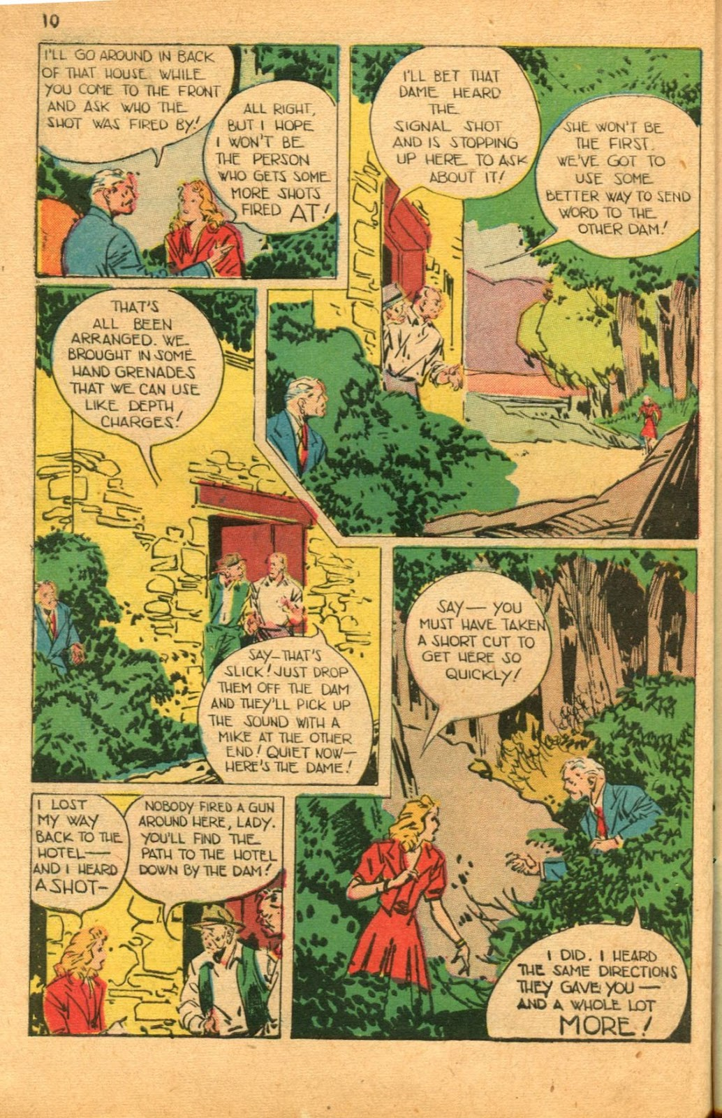 Read online Super-Magician Comics comic -  Issue #46 - 10