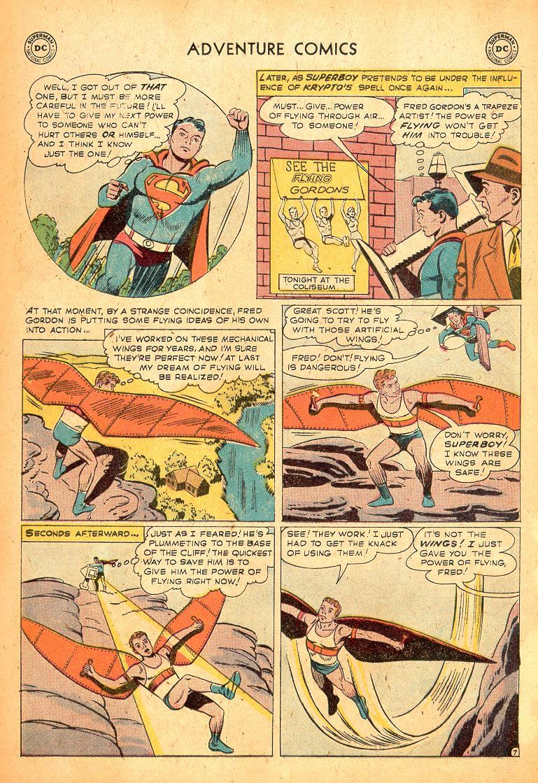Read online Adventure Comics (1938) comic -  Issue #254 - 9