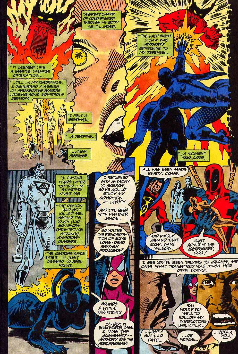 Read online Secret Defenders comic -  Issue #16 - 12