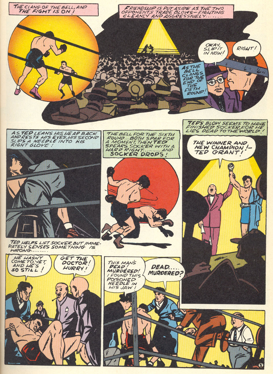 Read online Sensation (Mystery) Comics comic -  Issue #1 - 60