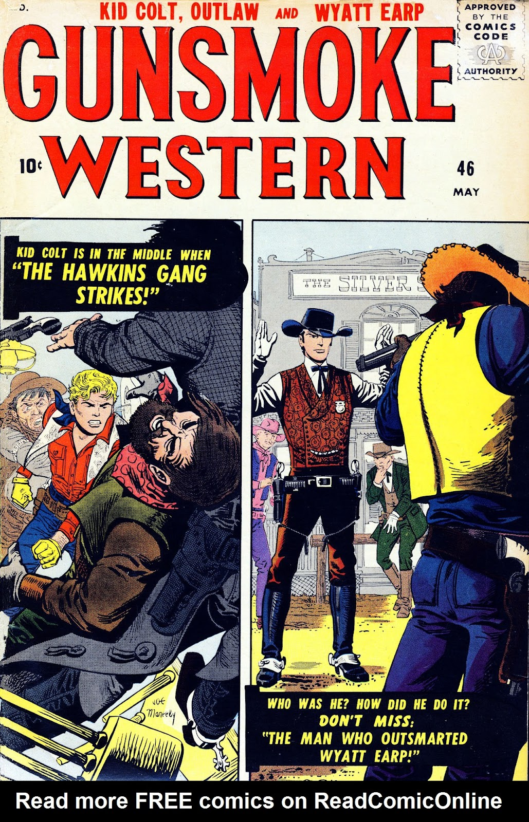 Gunsmoke Western issue 46 - Page 1