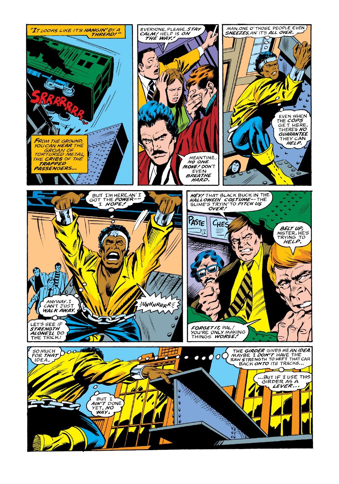 Read online Marvel Masterworks: Luke Cage, Power Man comic -  Issue # TPB 3 (Part 3) - 103