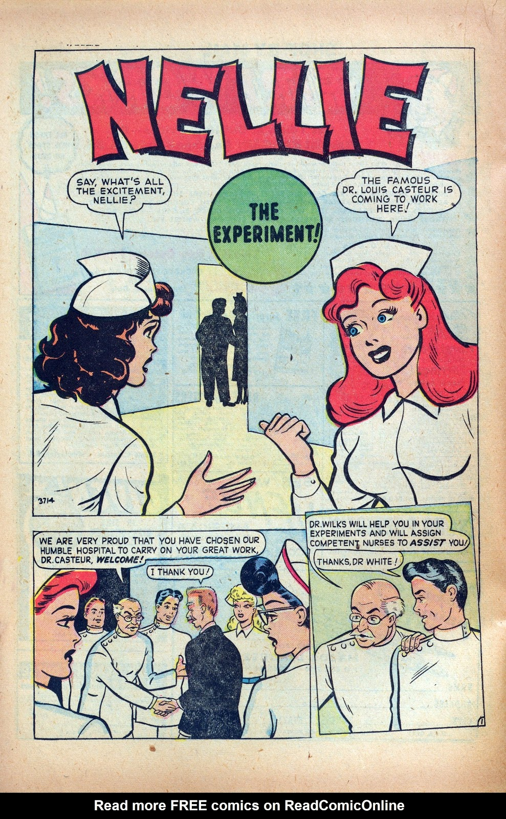 Read online Nellie The Nurse (1945) comic -  Issue #24 - 22