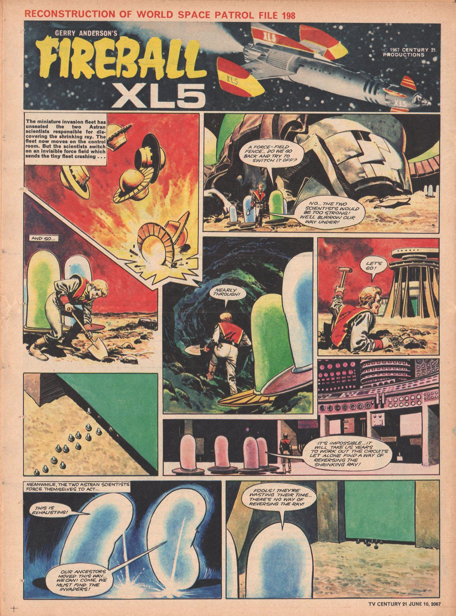 Read online TV Century 21 (TV 21) comic -  Issue #125 - 19