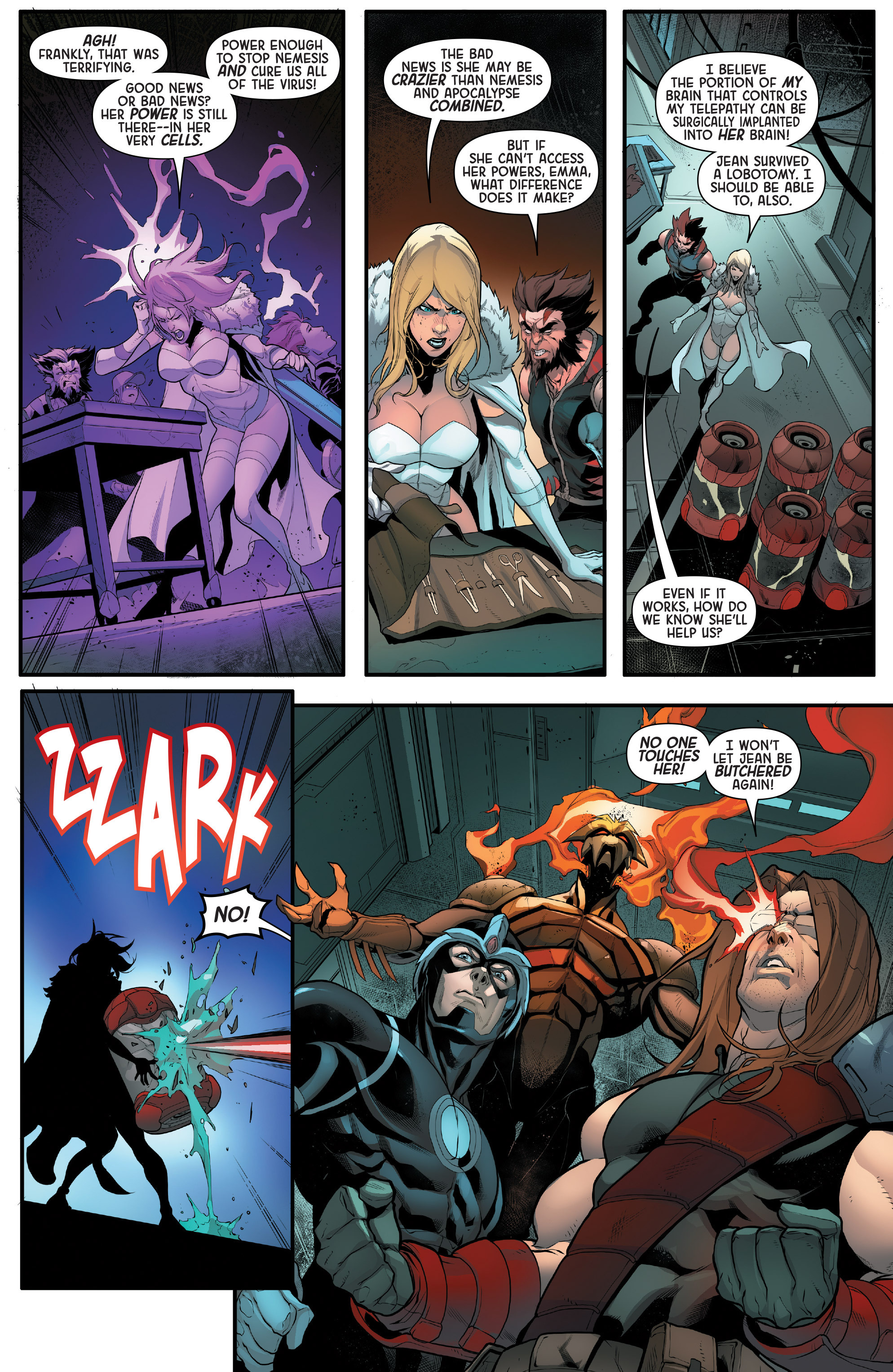Read online Age of Apocalypse (2015) comic -  Issue #5 - 13