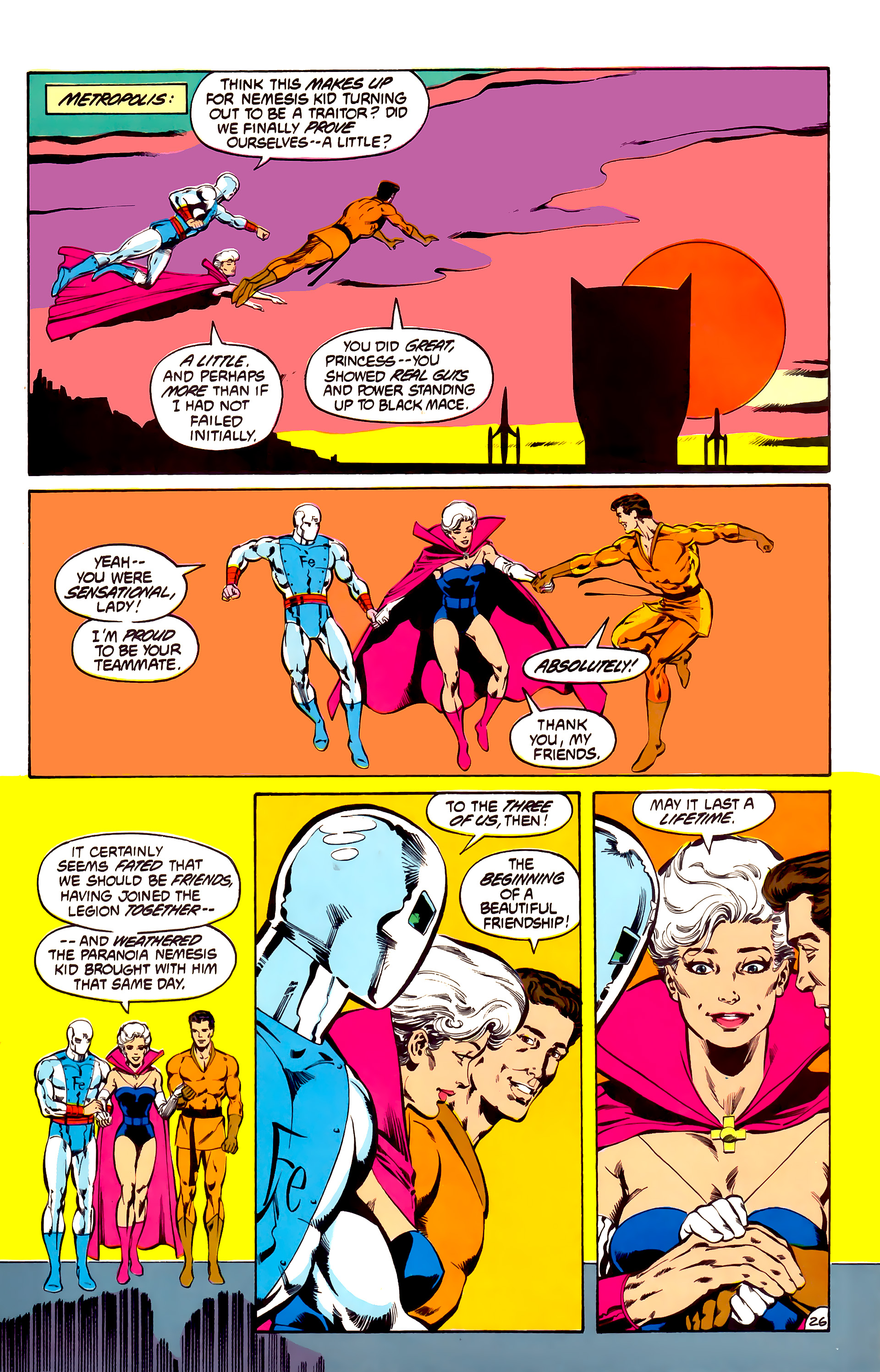 Legion of Super-Heroes (1984) 31 Page 26