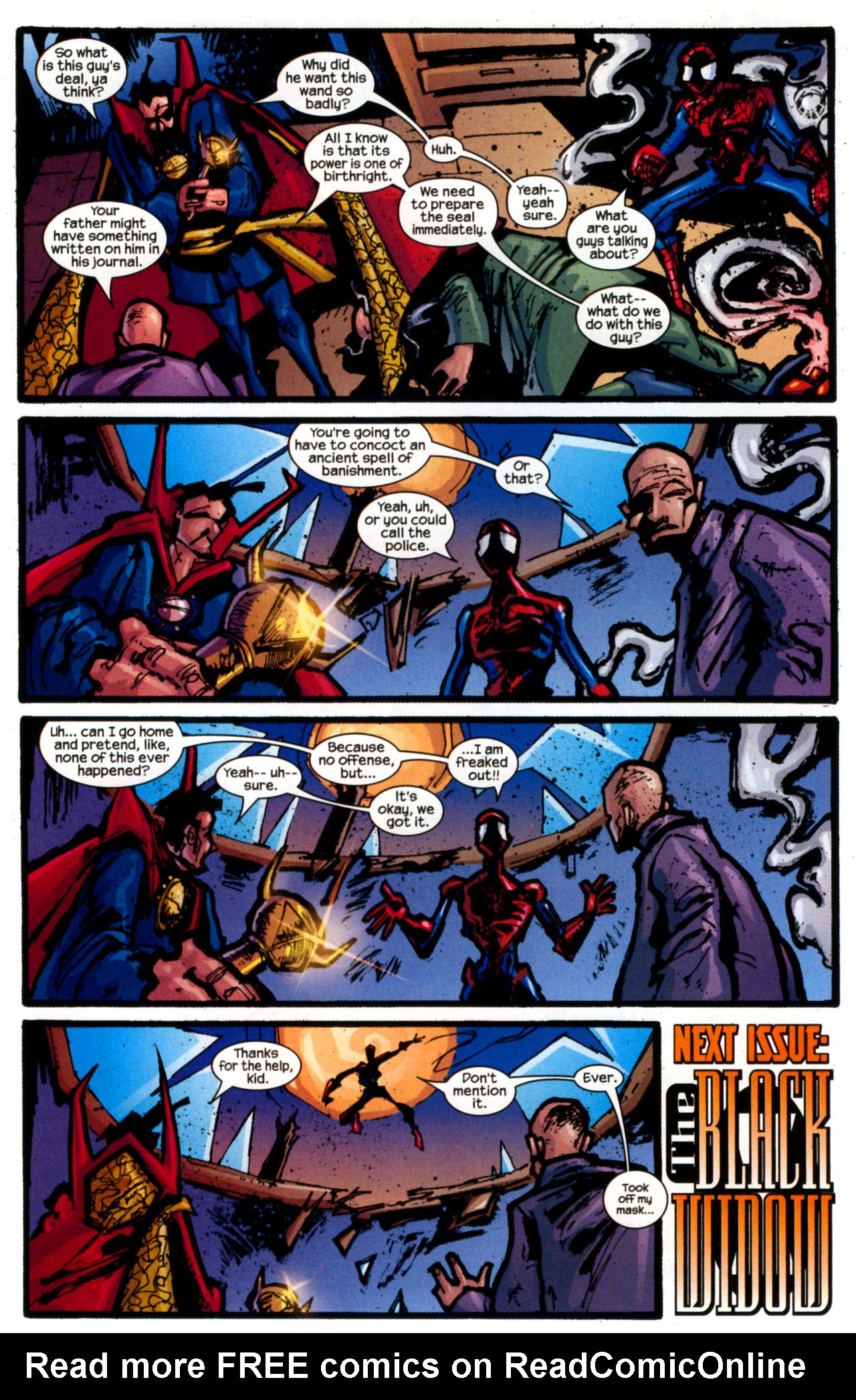 Read online Ultimate Marvel Team-Up comic -  Issue #13 - 32