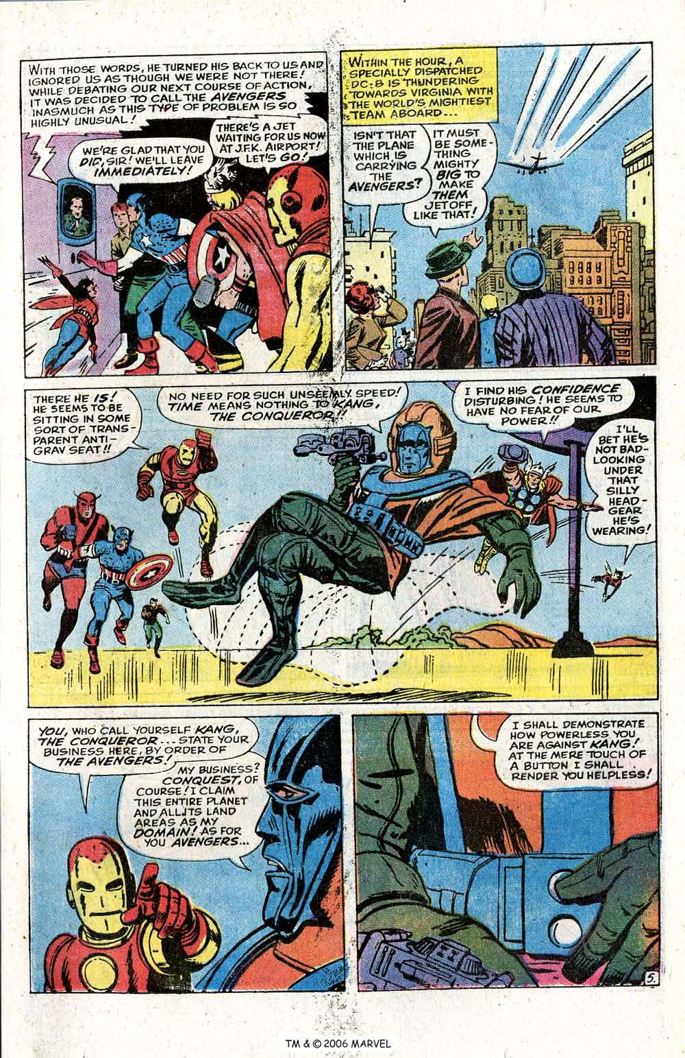 The Avengers (1963) _Annual_5 Page 6