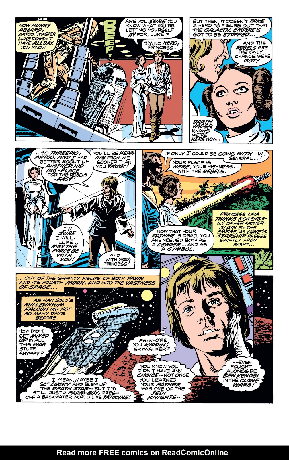 Read online Star Wars Legends: The Original Marvel Years - Epic Collection comic -  Issue # TPB 1 (Part 2) - 48