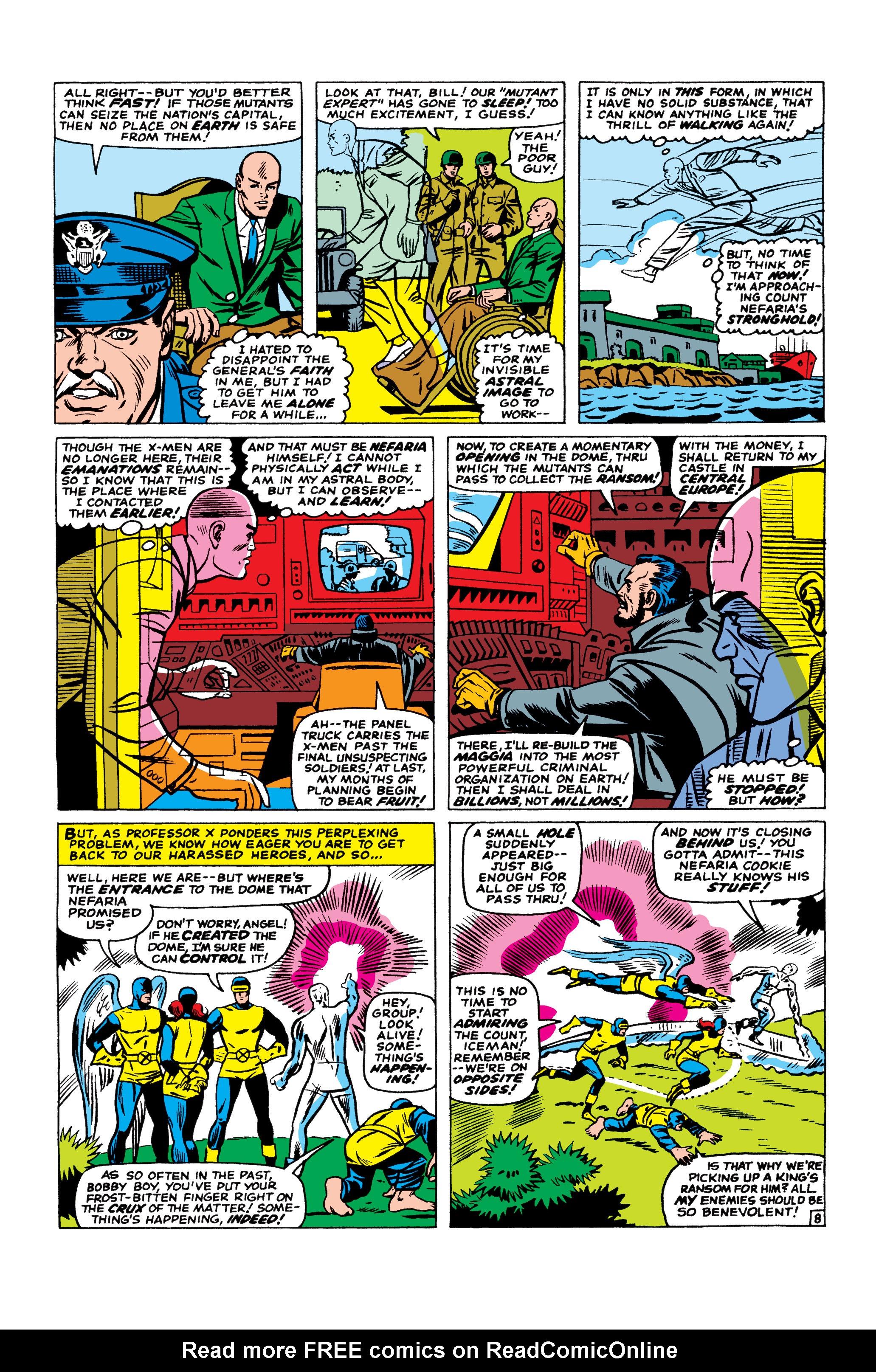 Read online Uncanny X-Men (1963) comic -  Issue #23 - 9