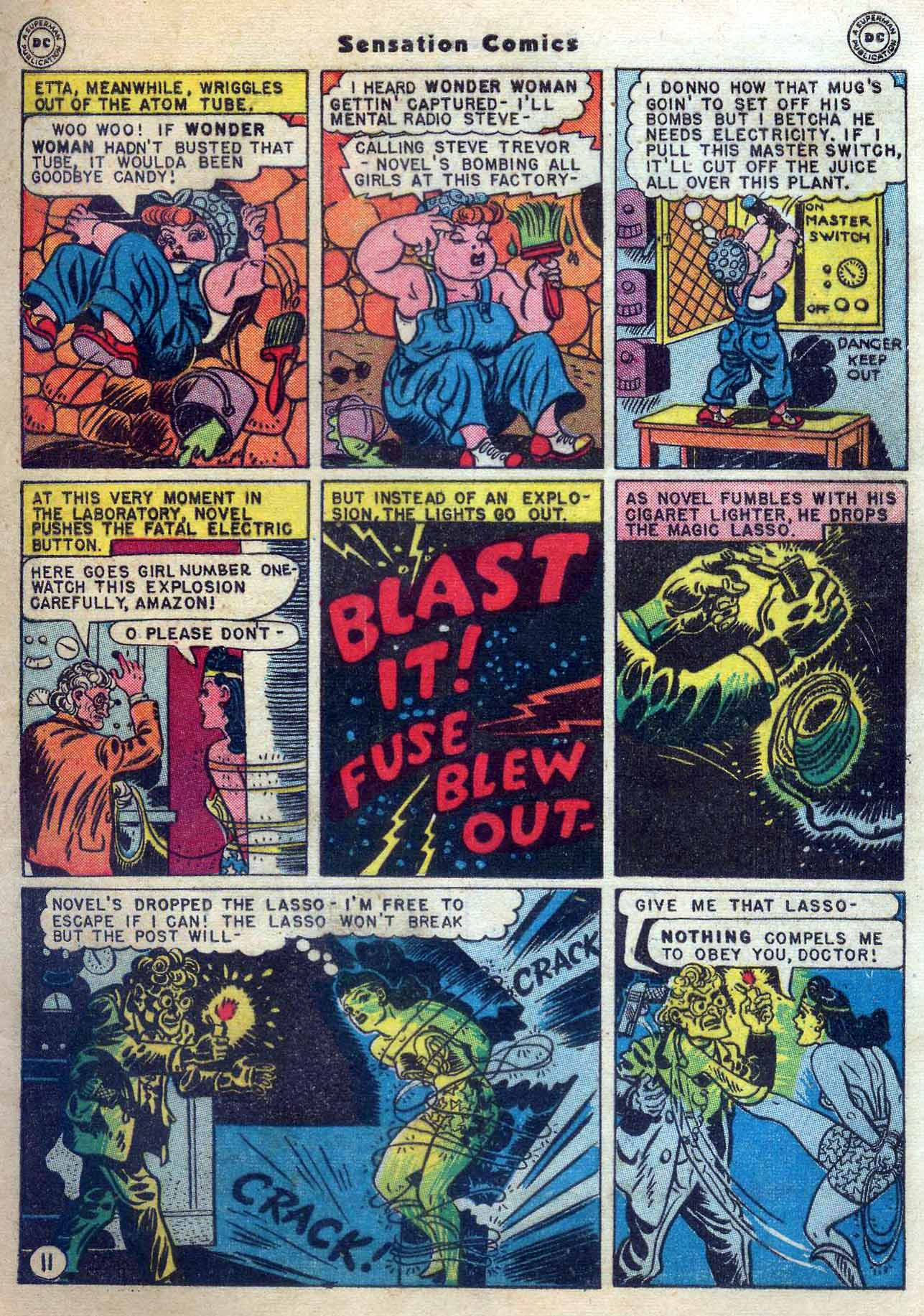 Read online Sensation (Mystery) Comics comic -  Issue #56 - 13