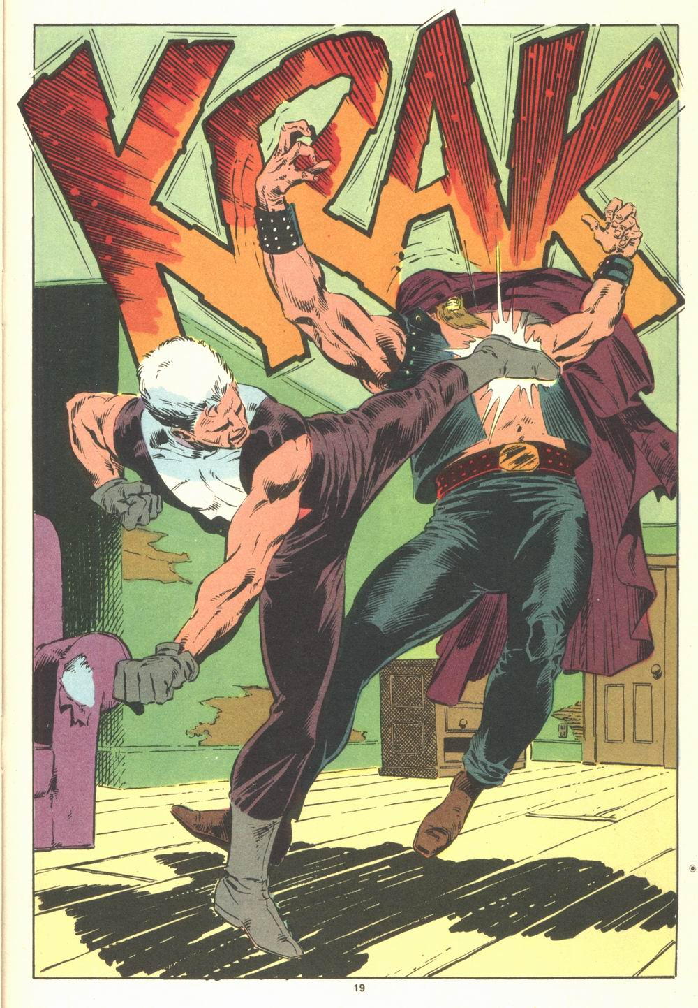Read online Justice (1986) comic -  Issue #19 - 21