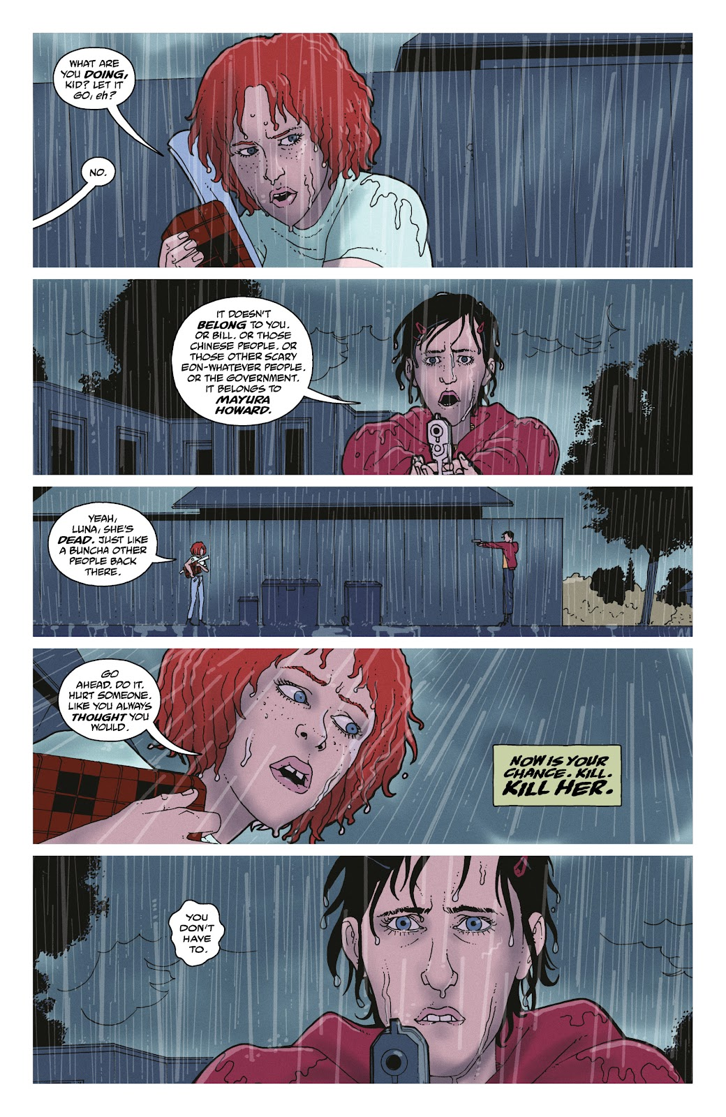 Read online She Could Fly comic -  Issue # _TPB - 136