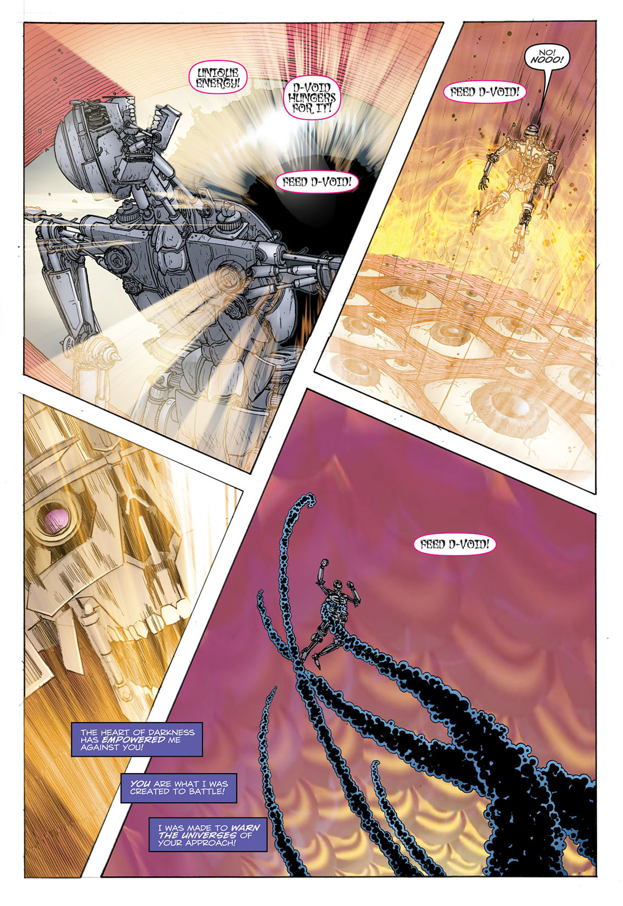 Read online Transformers: Heart of Darkness comic -  Issue #2 - 20
