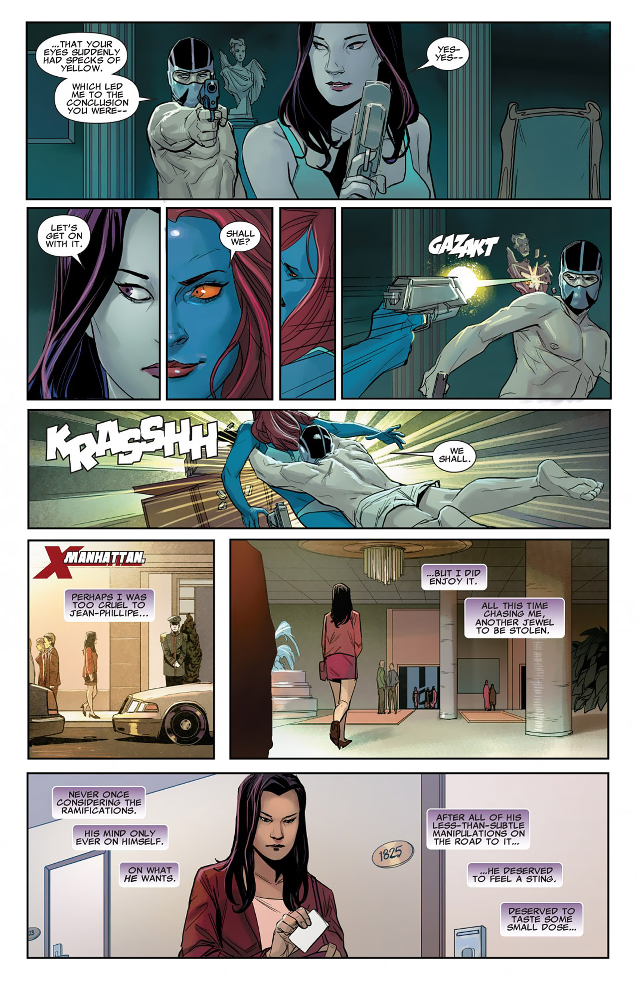 Read online Uncanny X-Force (2010) comic -  Issue #26 - 16