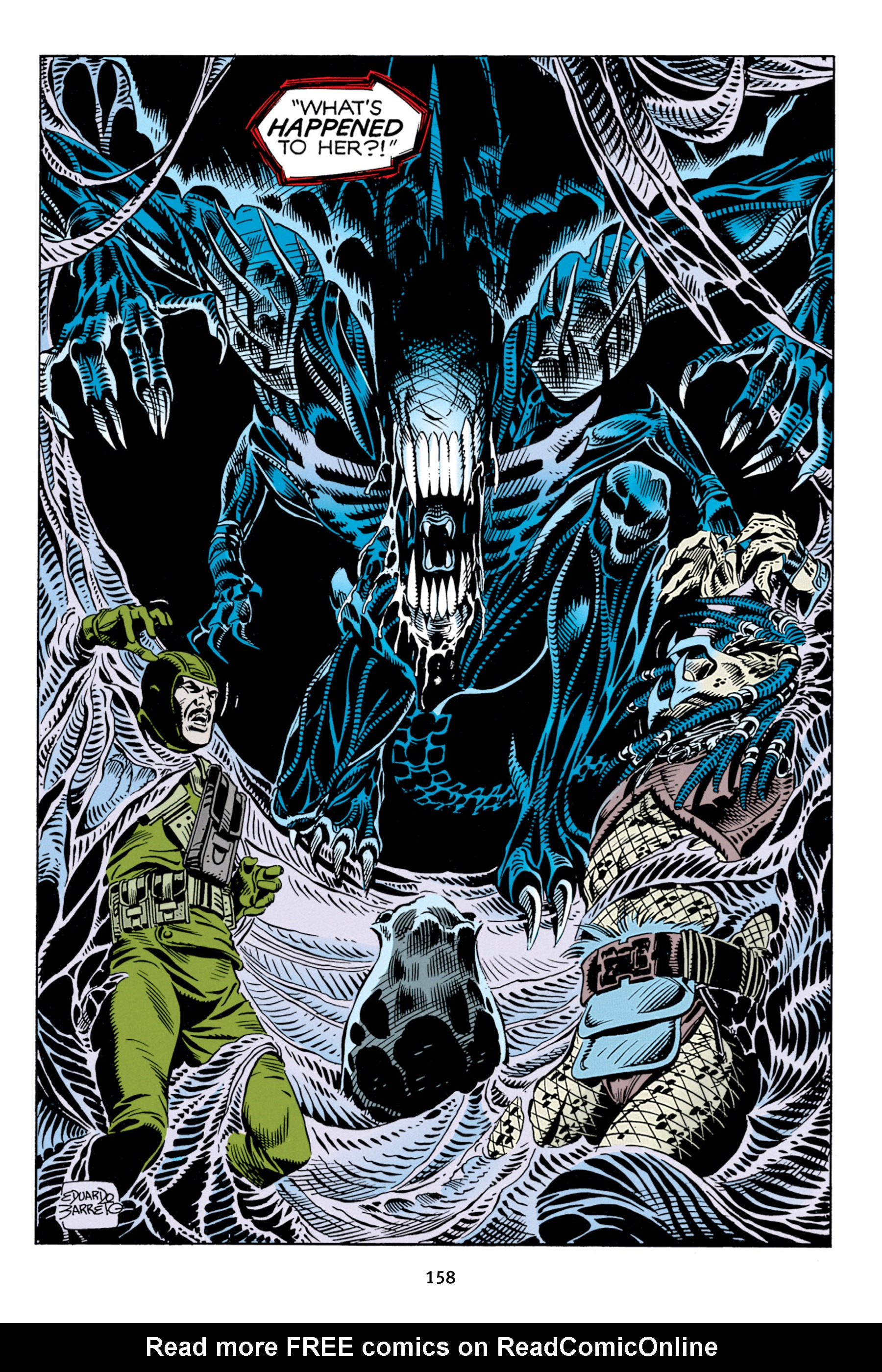 Read online Aliens vs. Predator Omnibus comic -  Issue # _TPB 2 Part 2 - 46