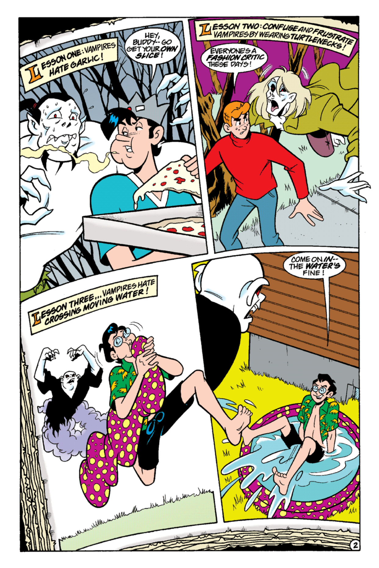 Read online Archie's Weird Mysteries comic -  Issue #15 - 20