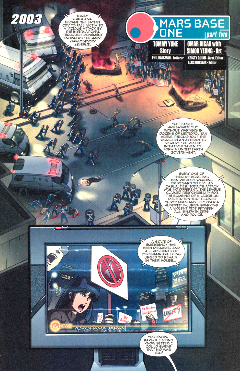 Read online Robotech: Invasion comic -  Issue #2 - 19
