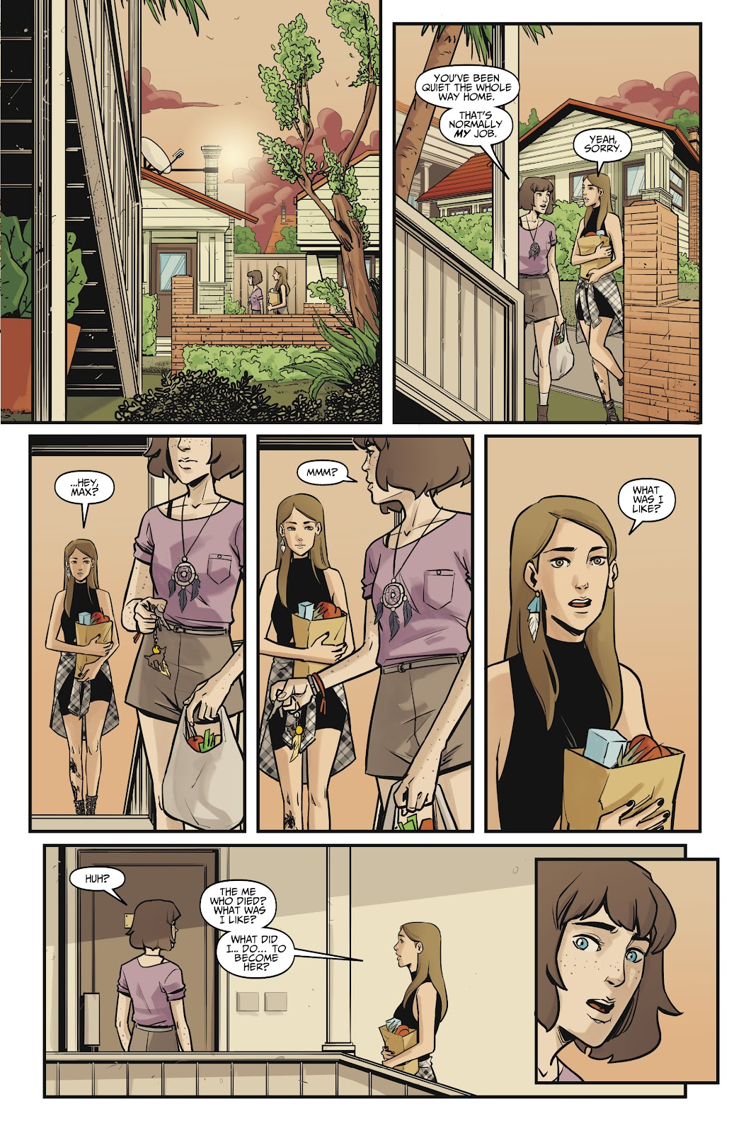 Read online Life is Strange comic -  Issue #10 - 21