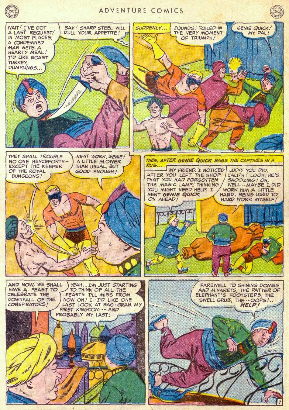 Read online Adventure Comics (1938) comic -  Issue #161 - 31