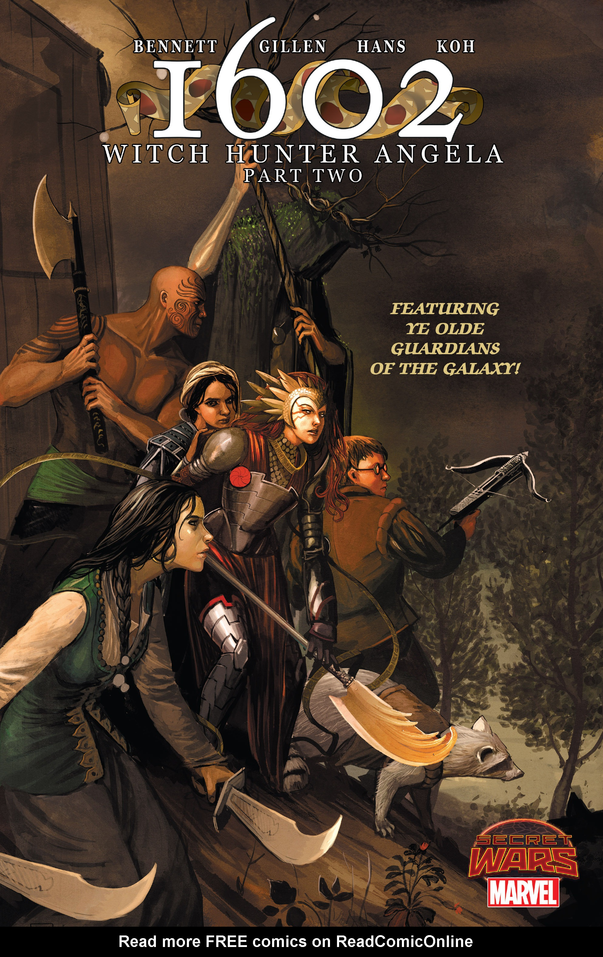 Read online 1602 Witch Hunter Angela comic -  Issue #2 - 1