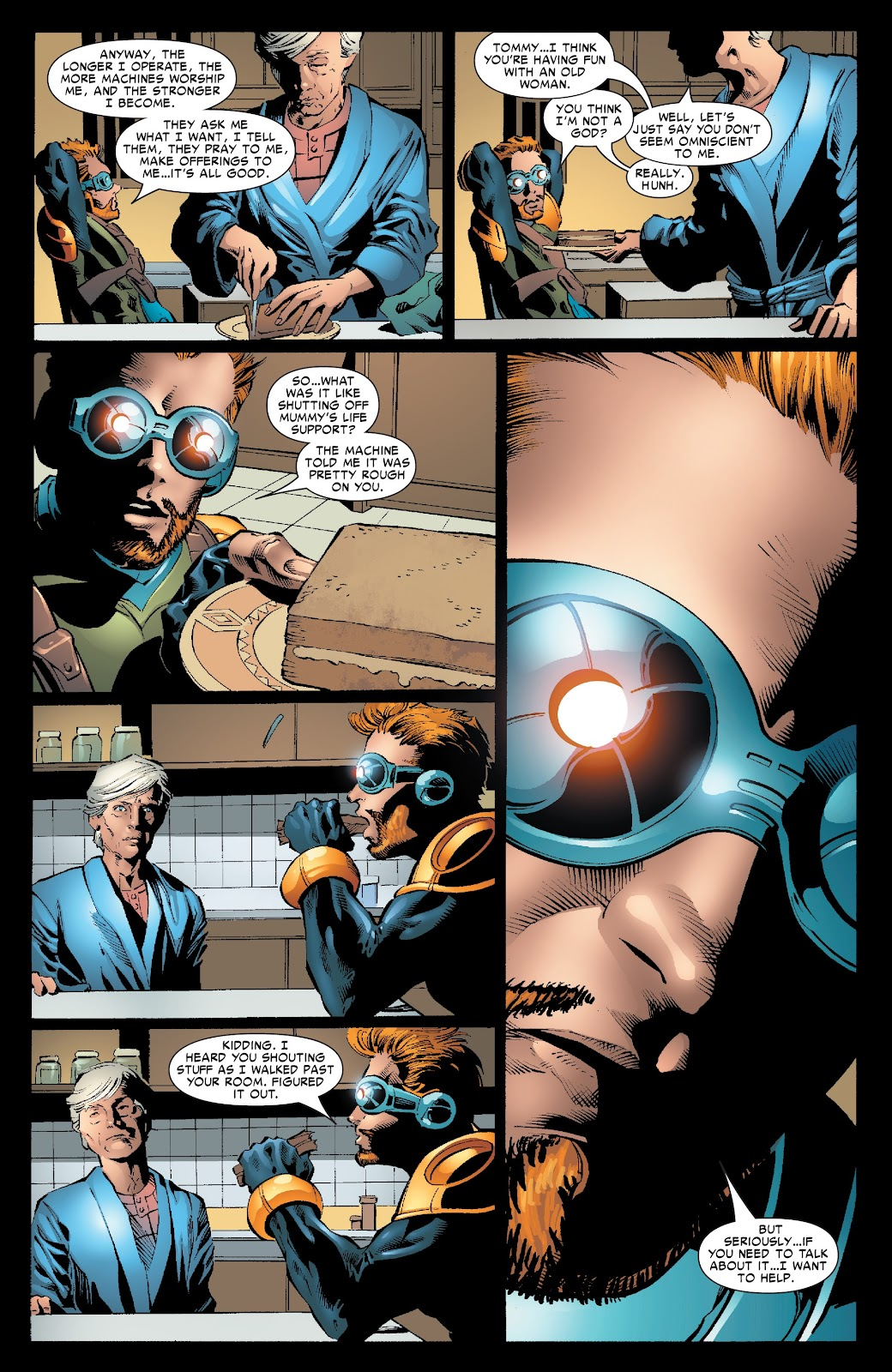 The Amazing Spider-Man by JMS Ultimate Collection issue TPB 4 (Part 3) - Page 1