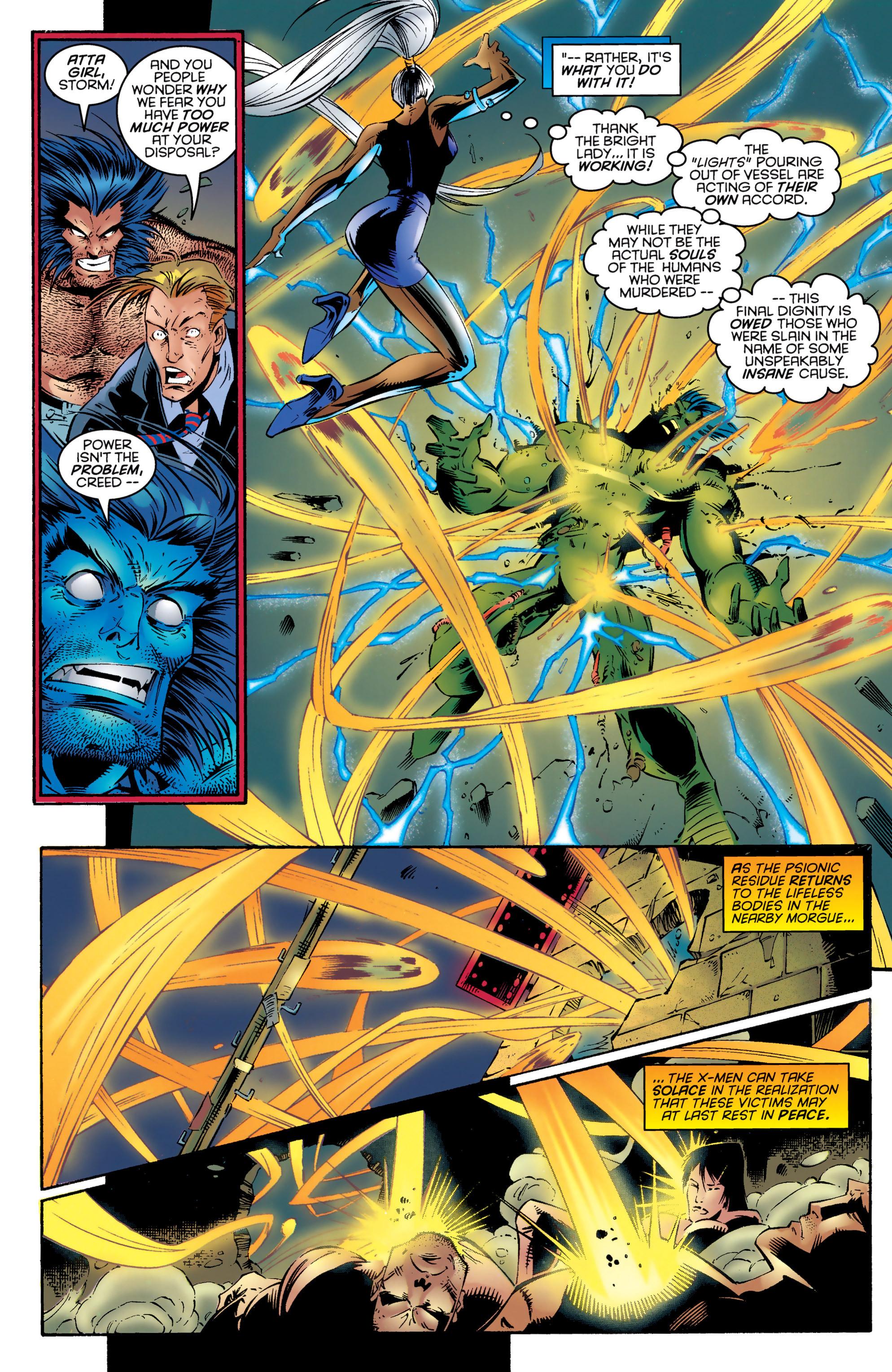 Read online Uncanny X-Men (1963) comic -  Issue #324 - 20