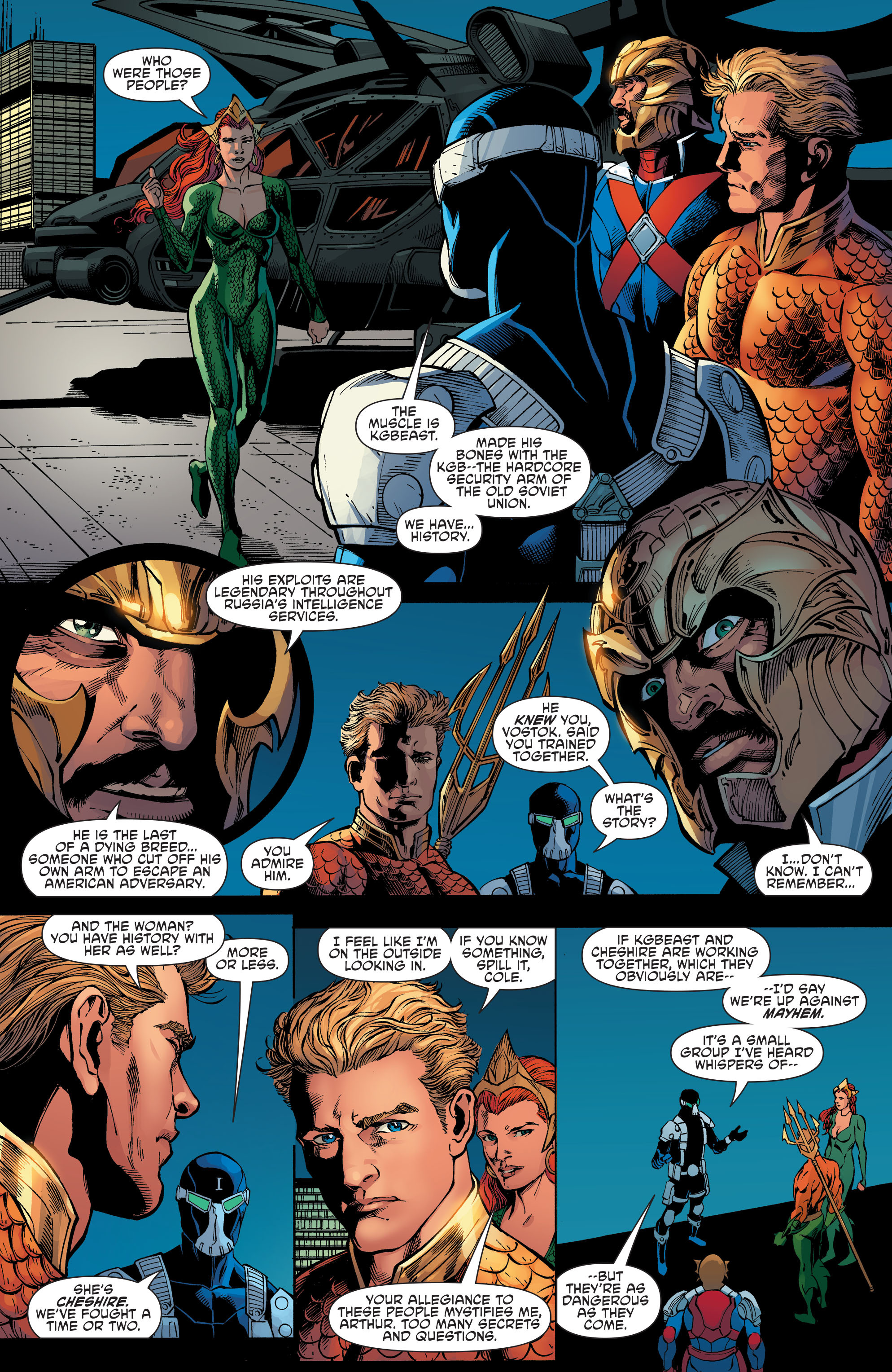 Read online Aquaman and the Others comic -  Issue #7 - 12