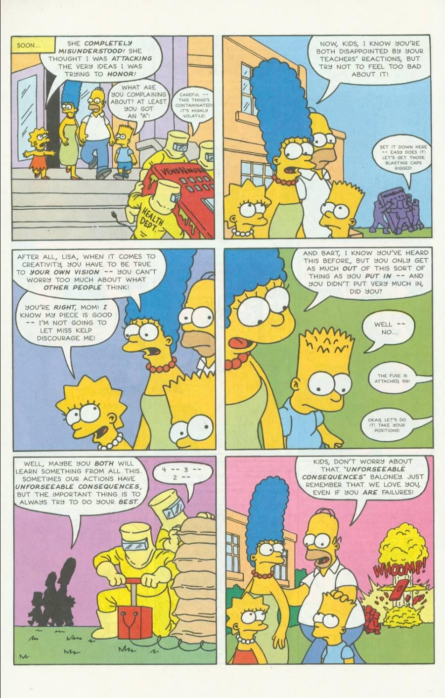 Read online Simpsons Comics comic -  Issue #4 - 21