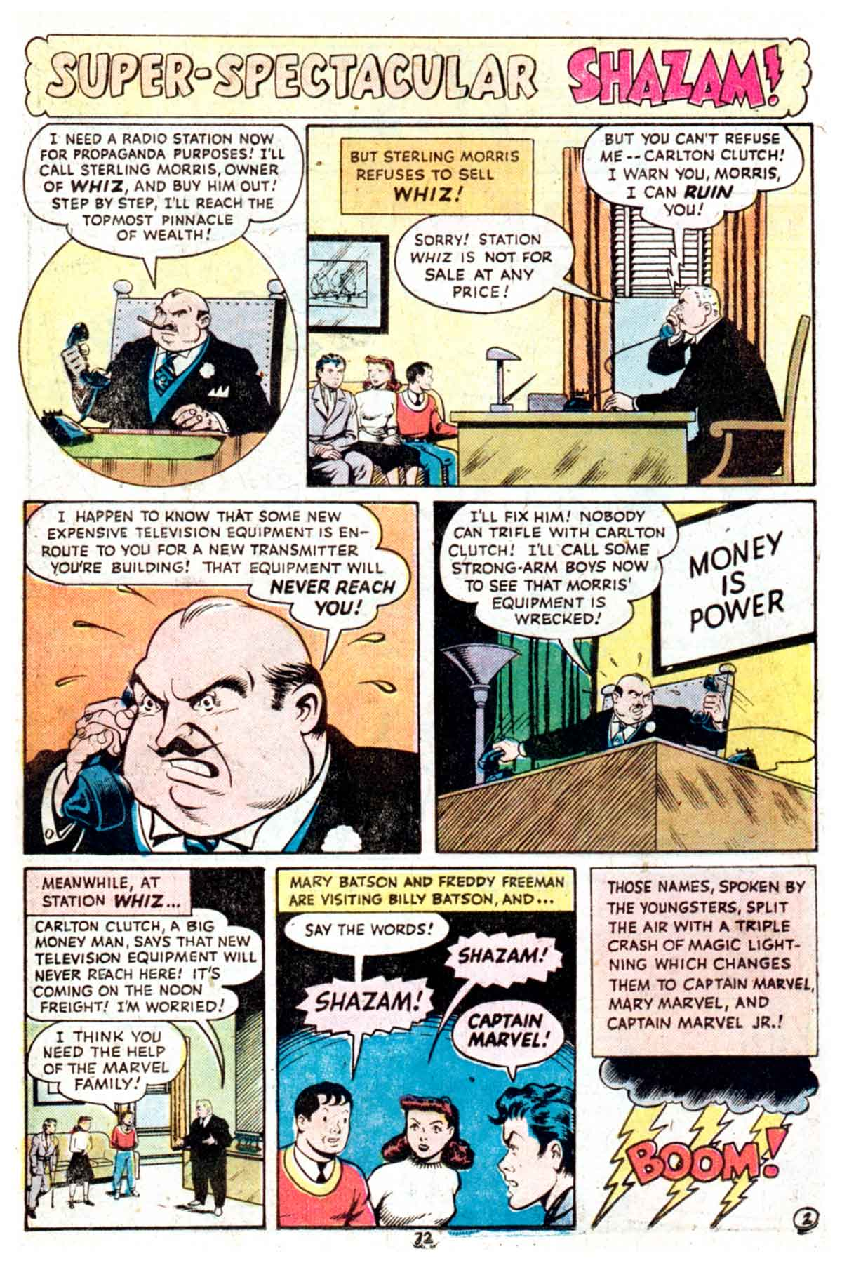 Read online Shazam! (1973) comic -  Issue #16 - 72