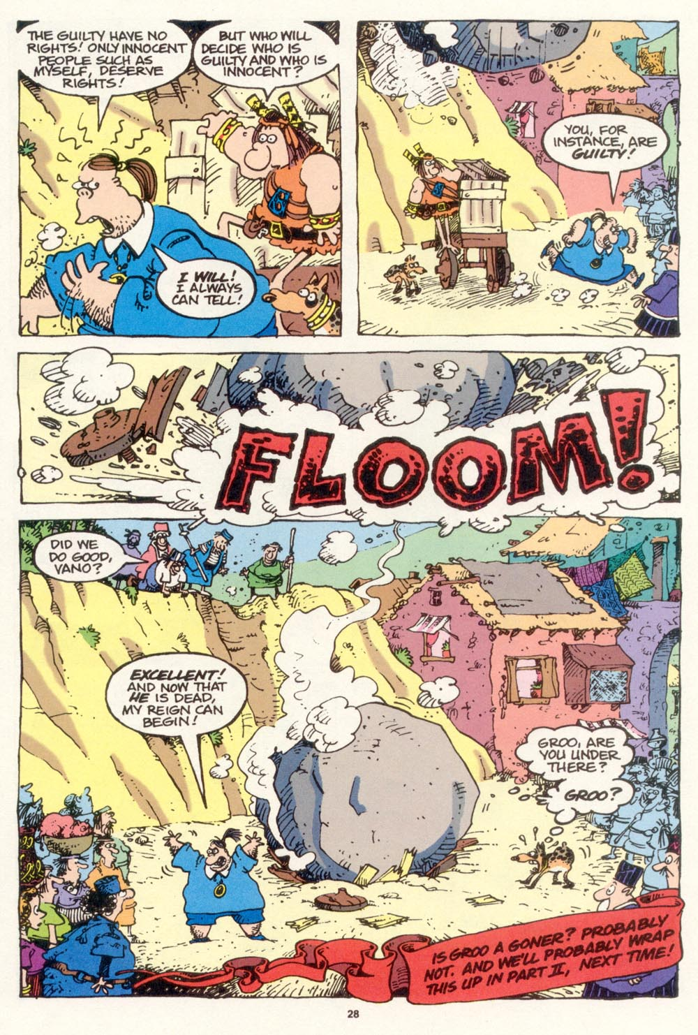 Read online Sergio Aragonés Groo the Wanderer comic -  Issue #118 - 30