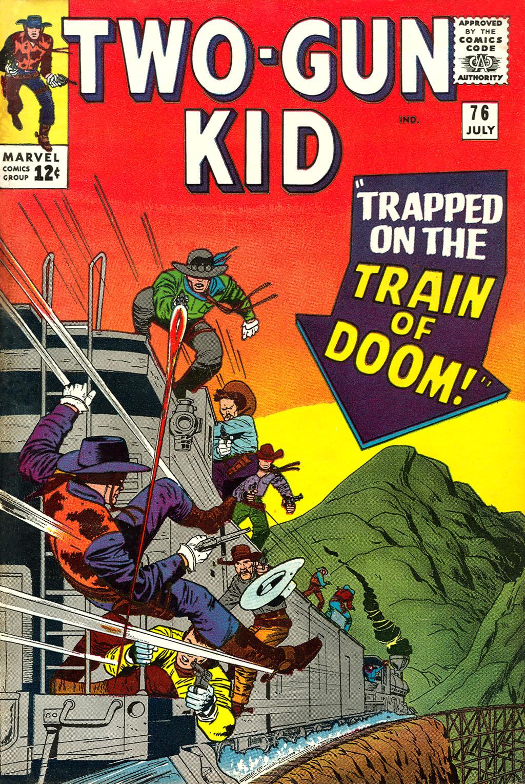Read online Two-Gun Kid comic -  Issue #76 - 1