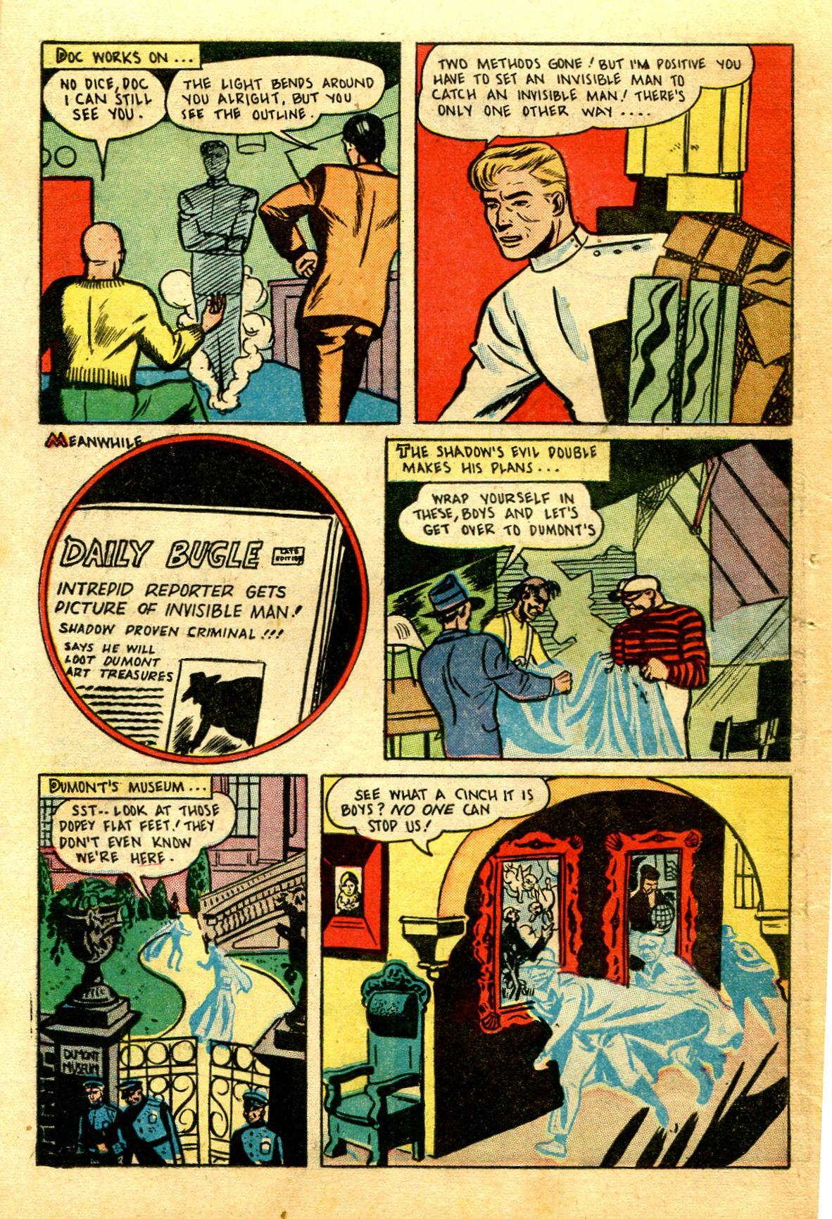 Read online Shadow Comics comic -  Issue #43 - 46
