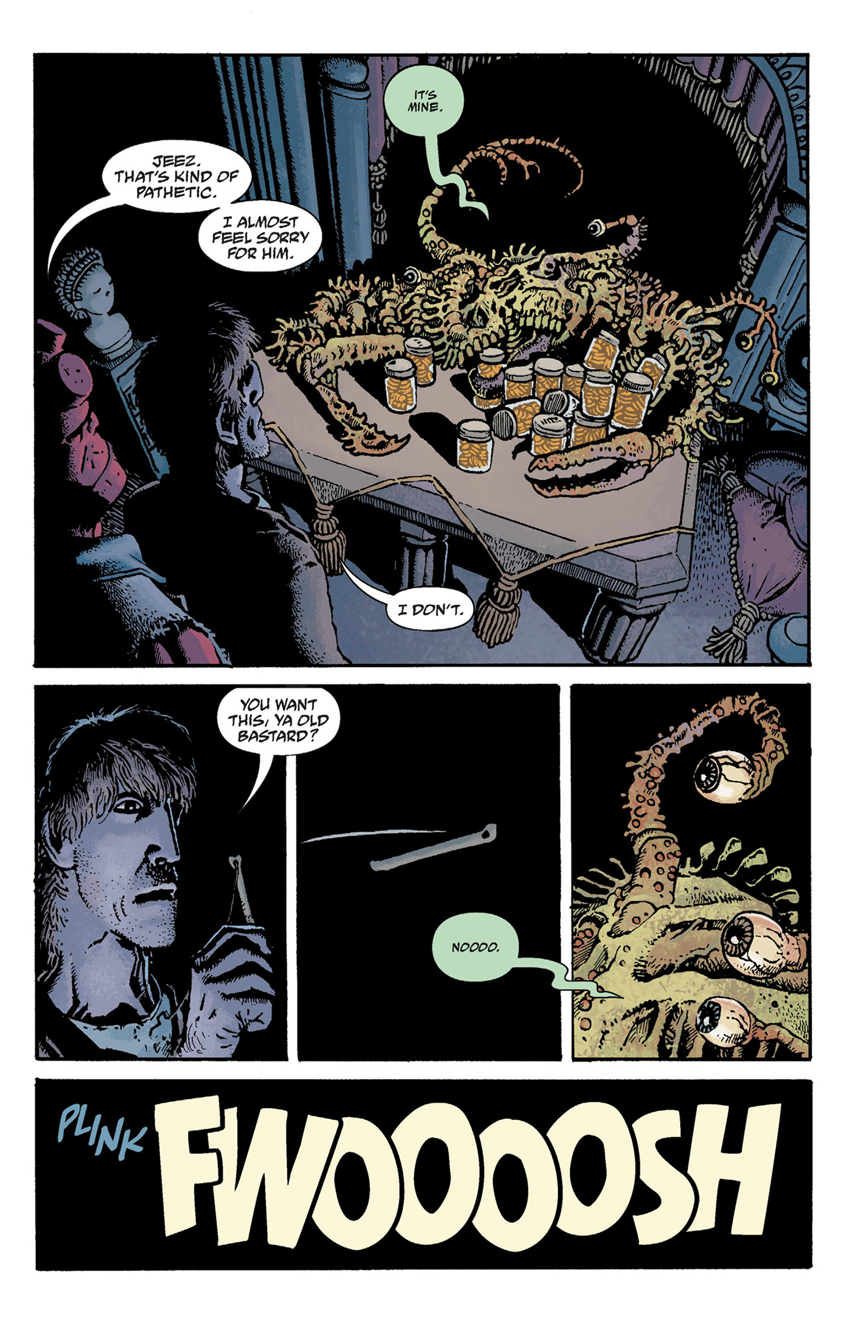 Read online Hellboy: The Crooked Man and Others comic -  Issue # TPB - 79