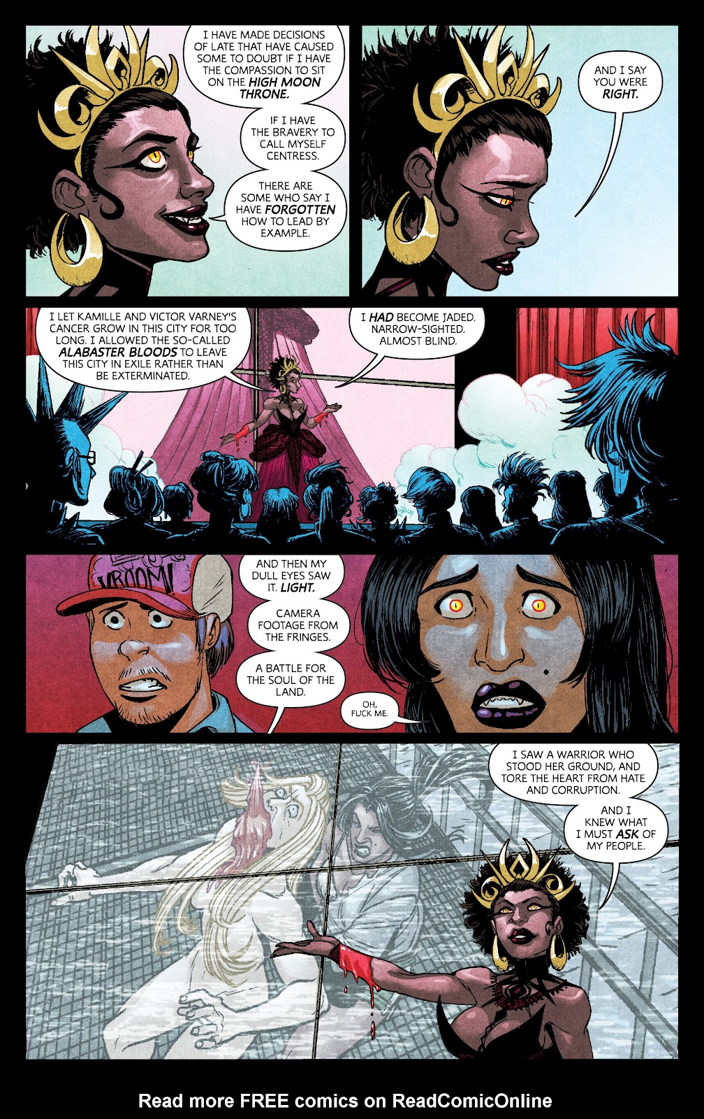 Read online Dark Red comic -  Issue #7 - 12