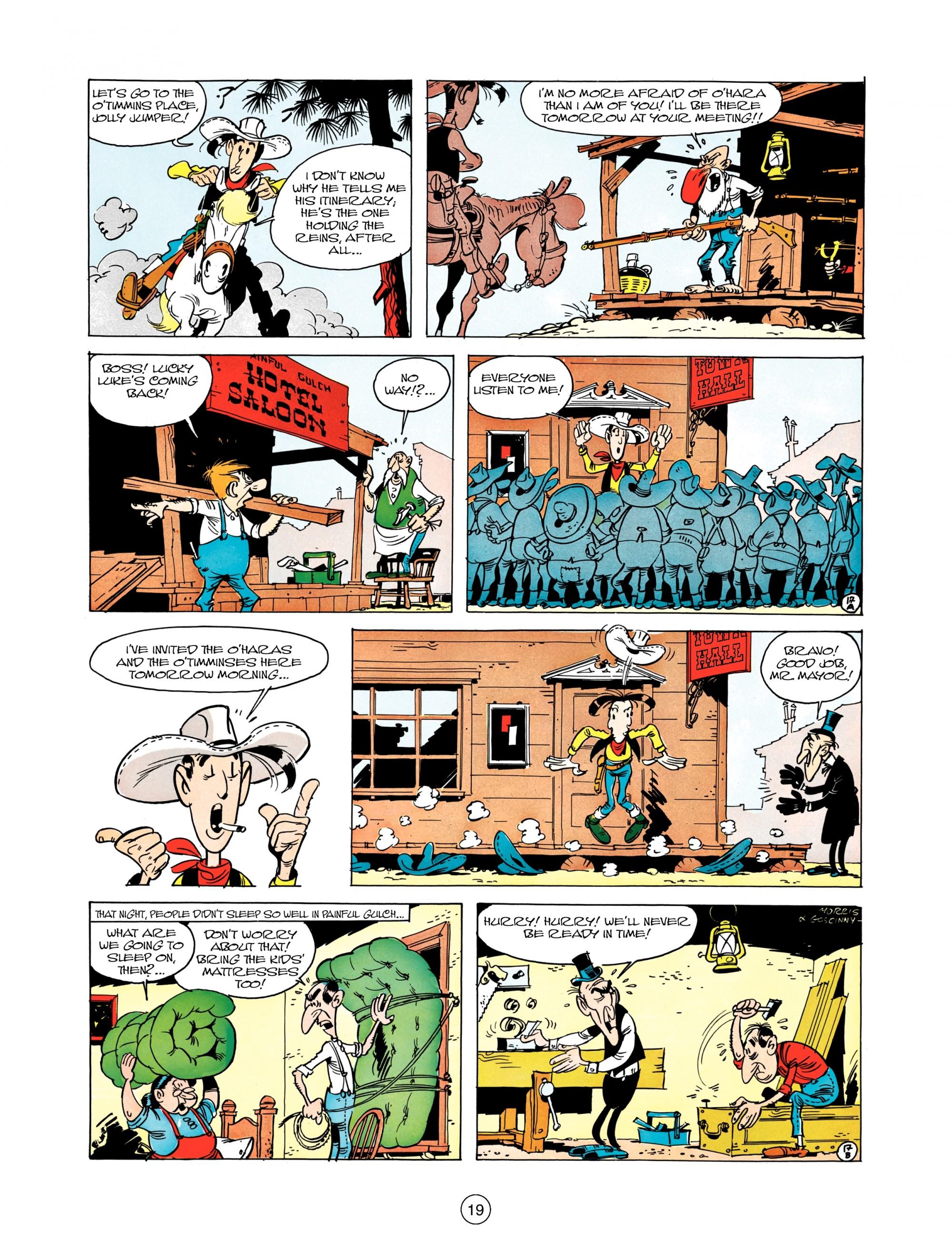Read online A Lucky Luke Adventure comic -  Issue #12 - 19