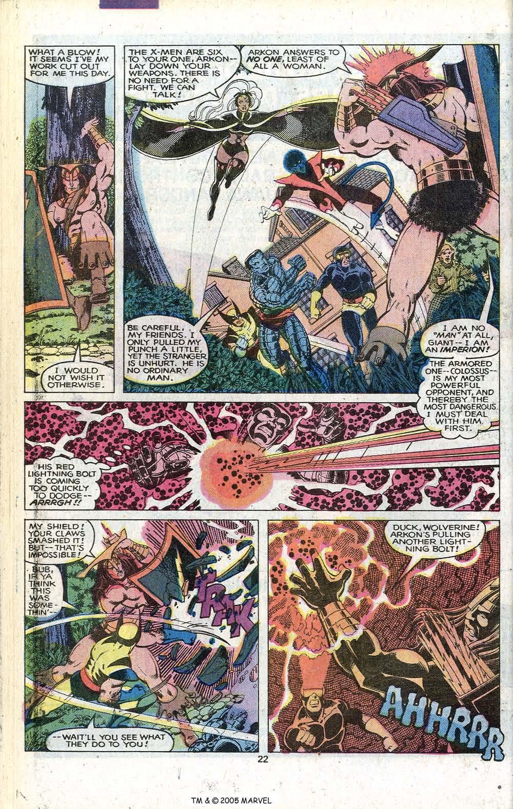 Read online Uncanny X-Men (1963) comic -  Issue # _Annual 3 - 24