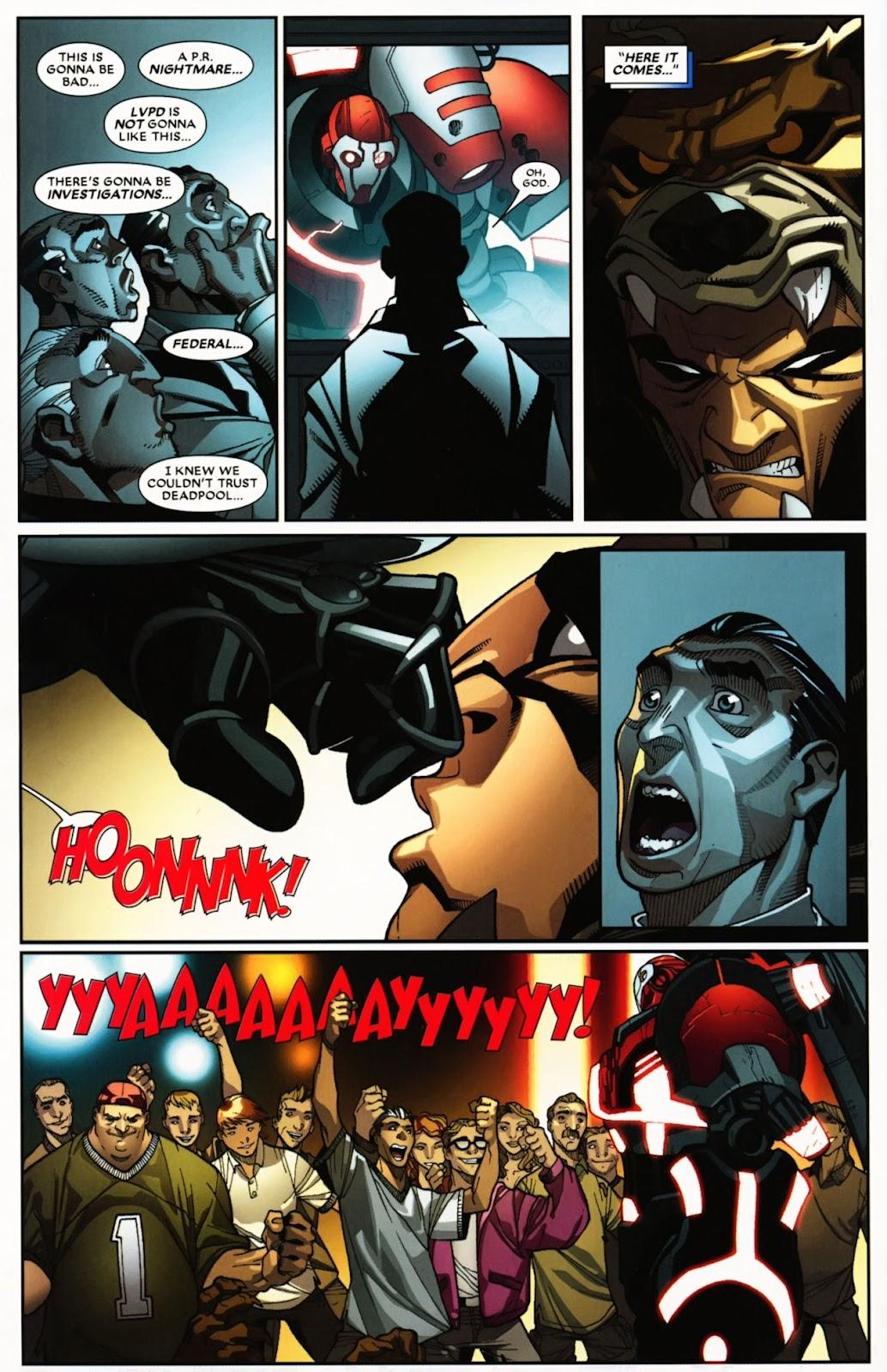 Read online Deadpool (2008) comic -  Issue #24 - 26