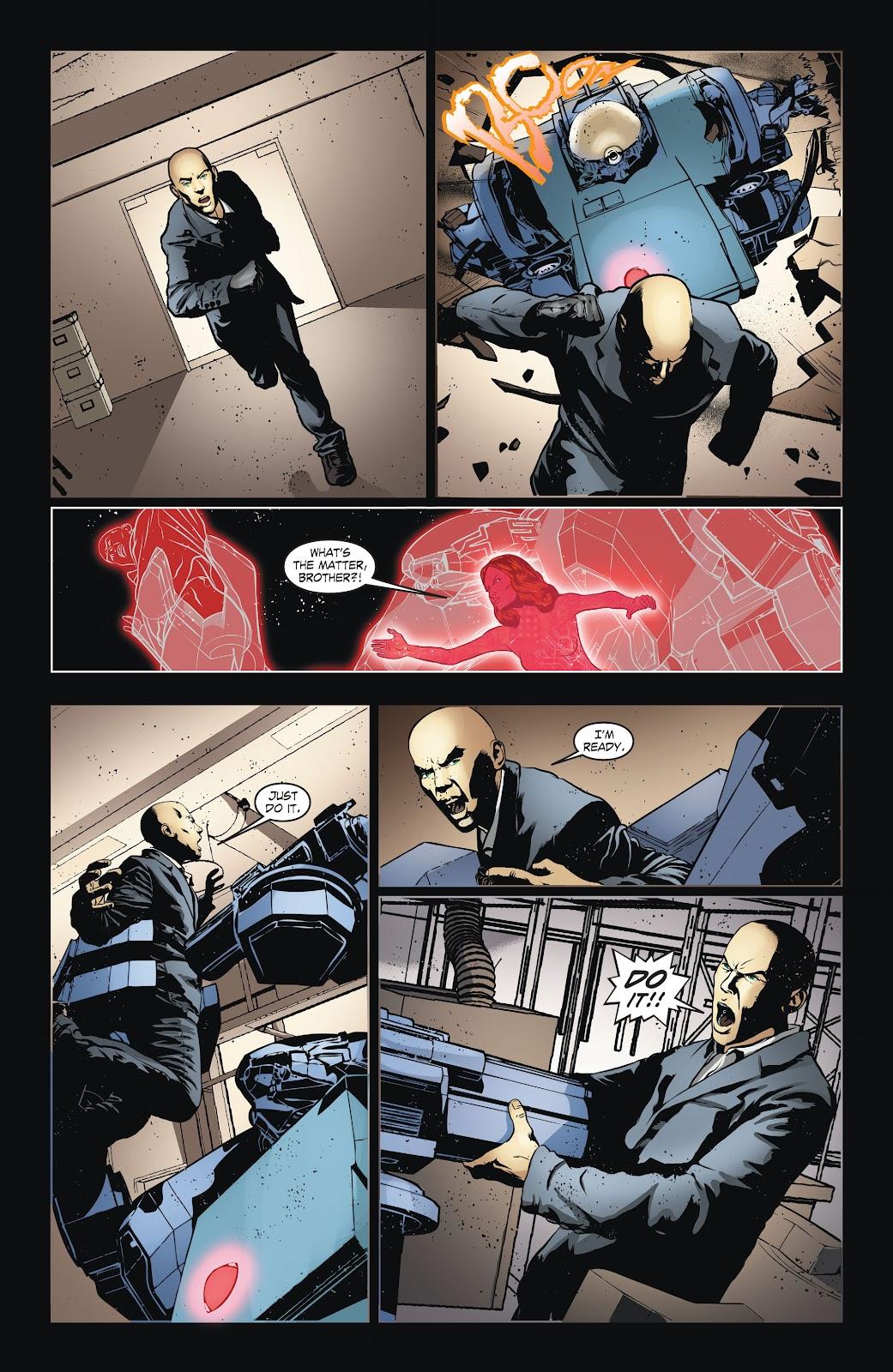 Read online Smallville Season 11 [II] comic -  Issue # TPB 6 - 39