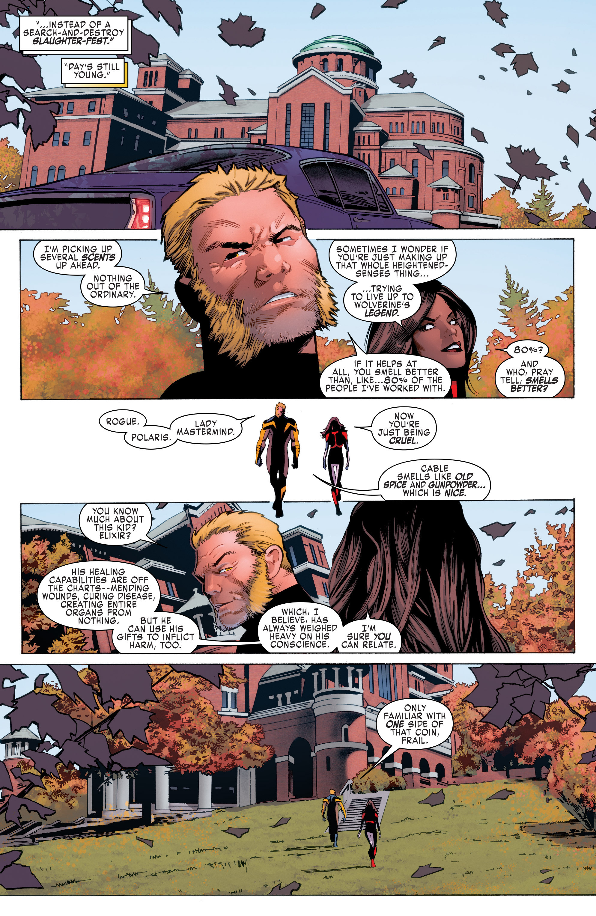 Read online Uncanny X-Men (2016) comic -  Issue #2 - 12