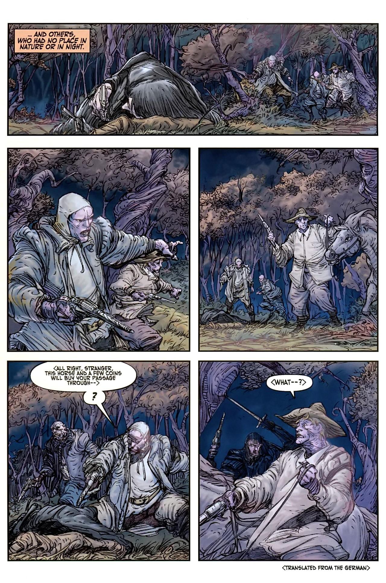 Read online Solomon Kane comic -  Issue #1 - 5