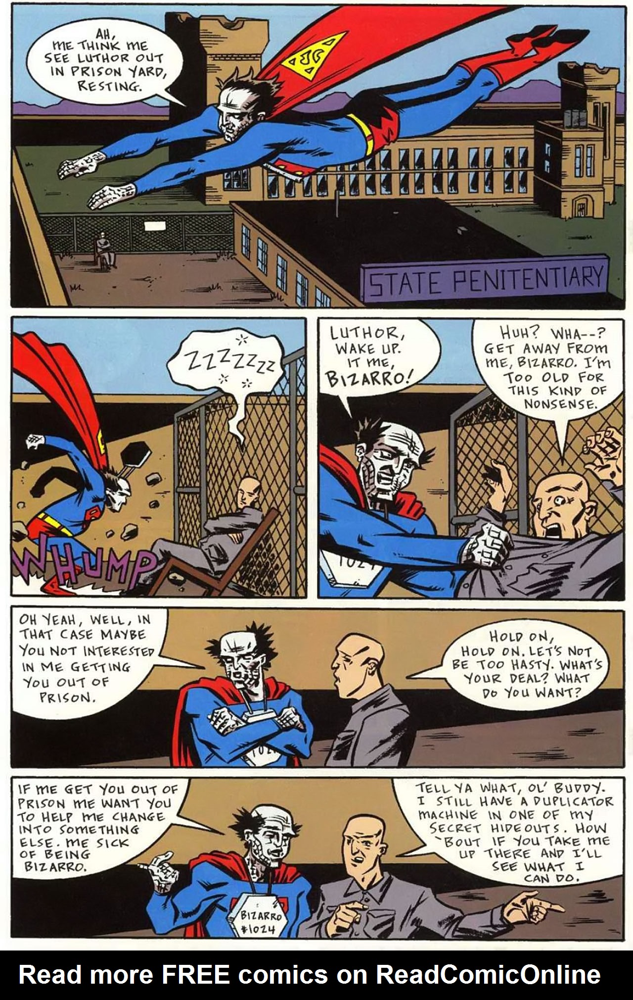 Read online Bizarro World comic -  Issue # TPB - 96