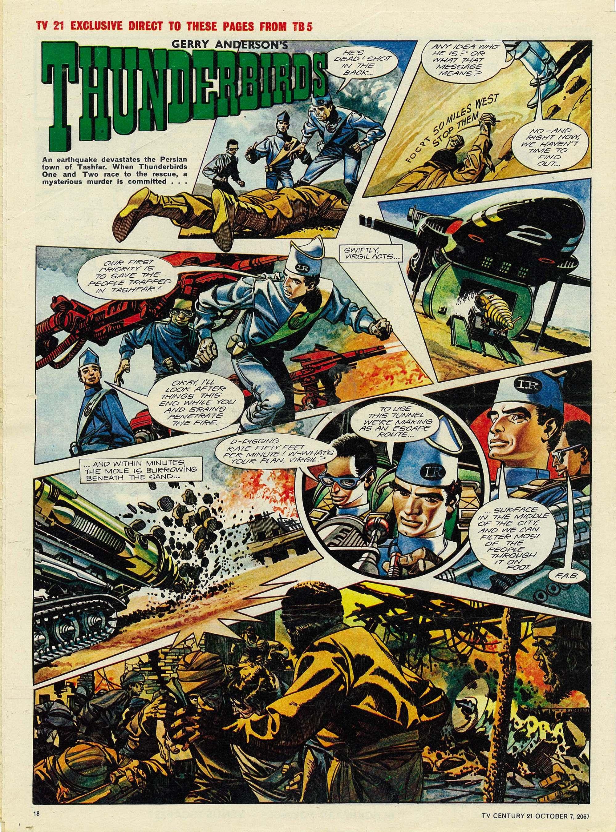 Read online TV Century 21 (TV 21) comic -  Issue #142 - 17