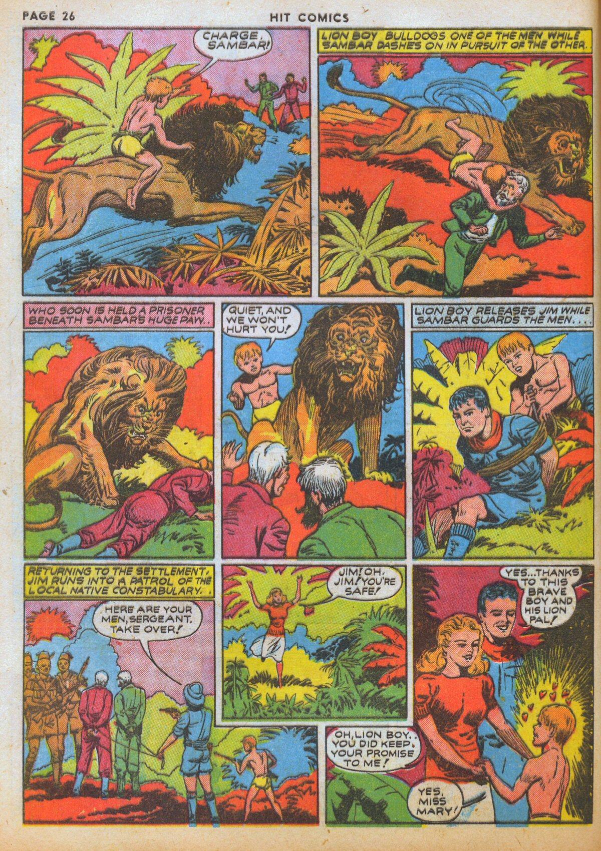 Read online Hit Comics comic -  Issue #12 - 28